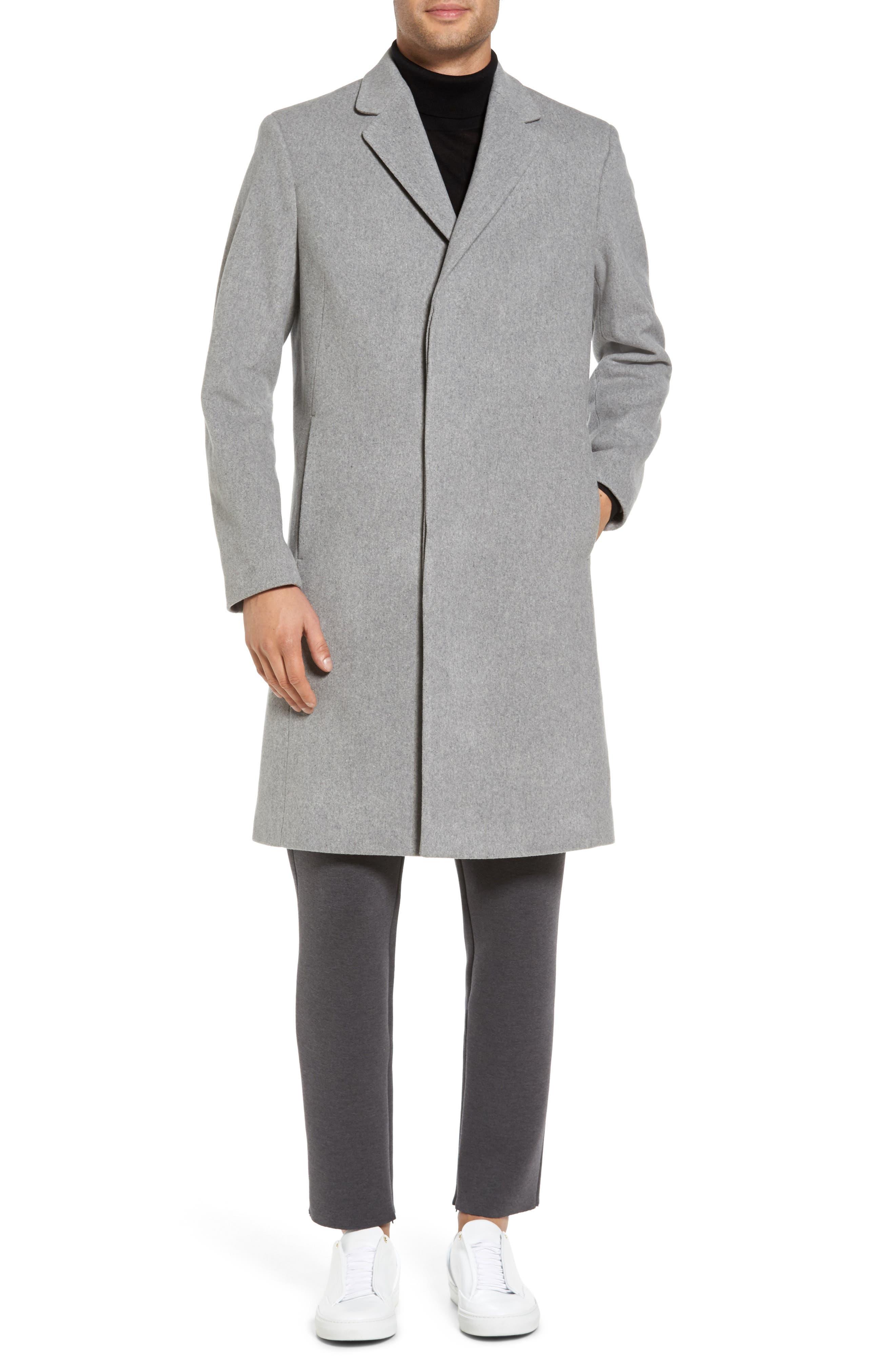 Bower Melton Wool Blend Topcoat,                             Alternate thumbnail 10, color,