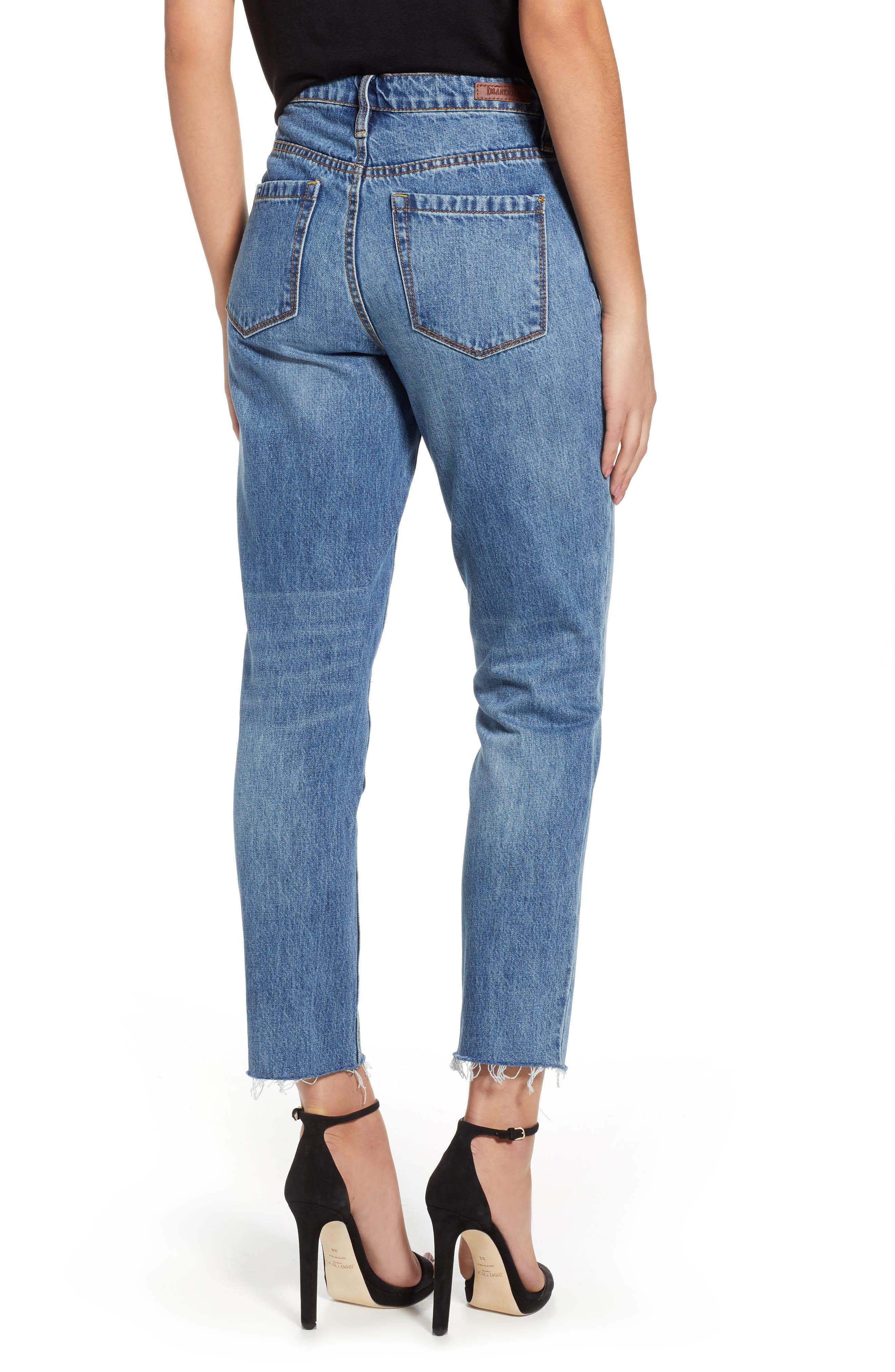 The Madison Straight Leg Crop Jeans,                             Alternate thumbnail 2, color,                             420