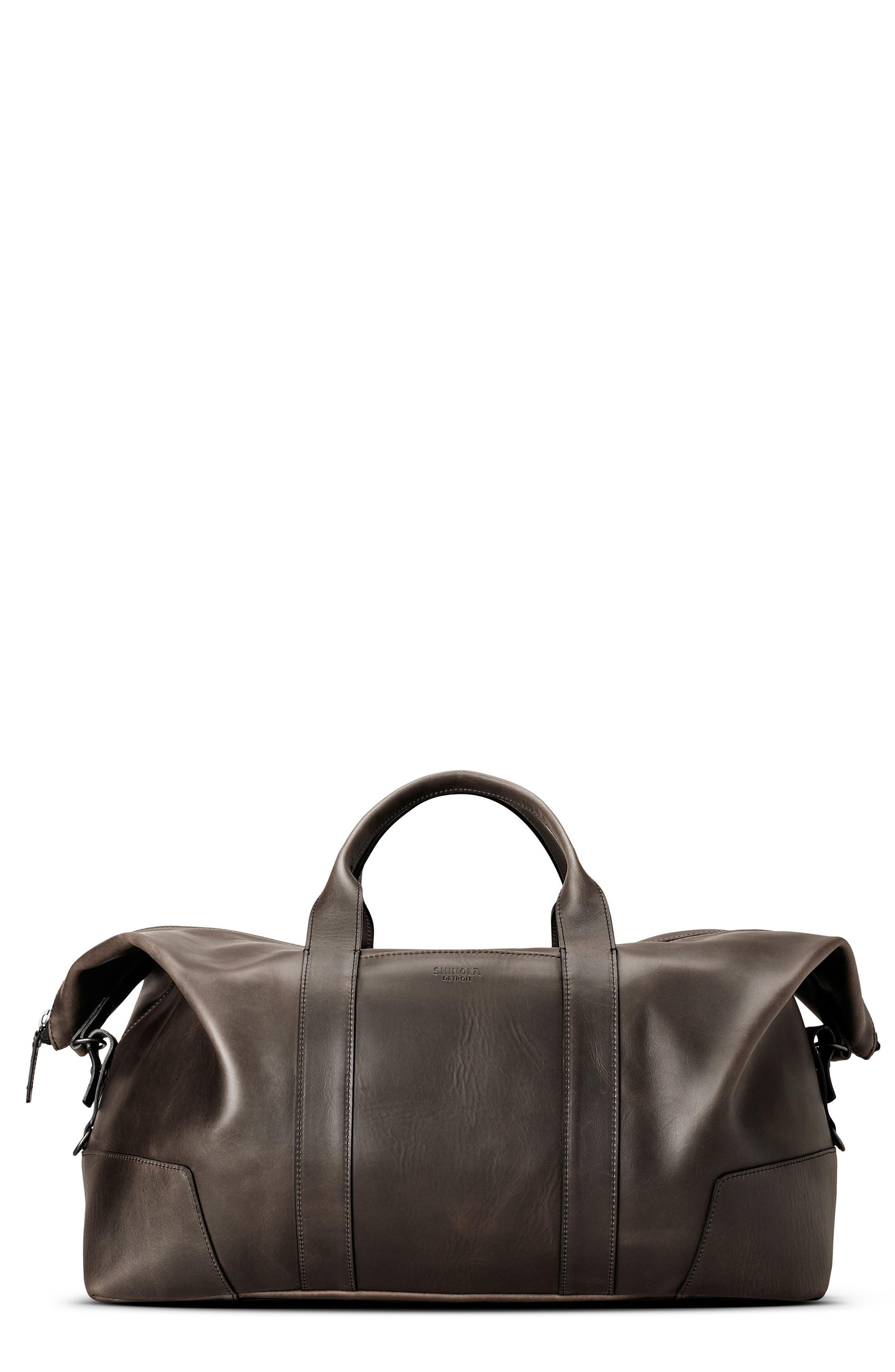 Madone Leather Carryall Bag,                         Main,                         color, 018
