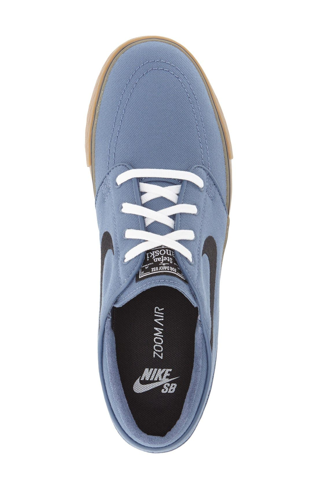 Zoom - Stefan Janoski SB Canvas Skate Shoe,                             Alternate thumbnail 116, color,