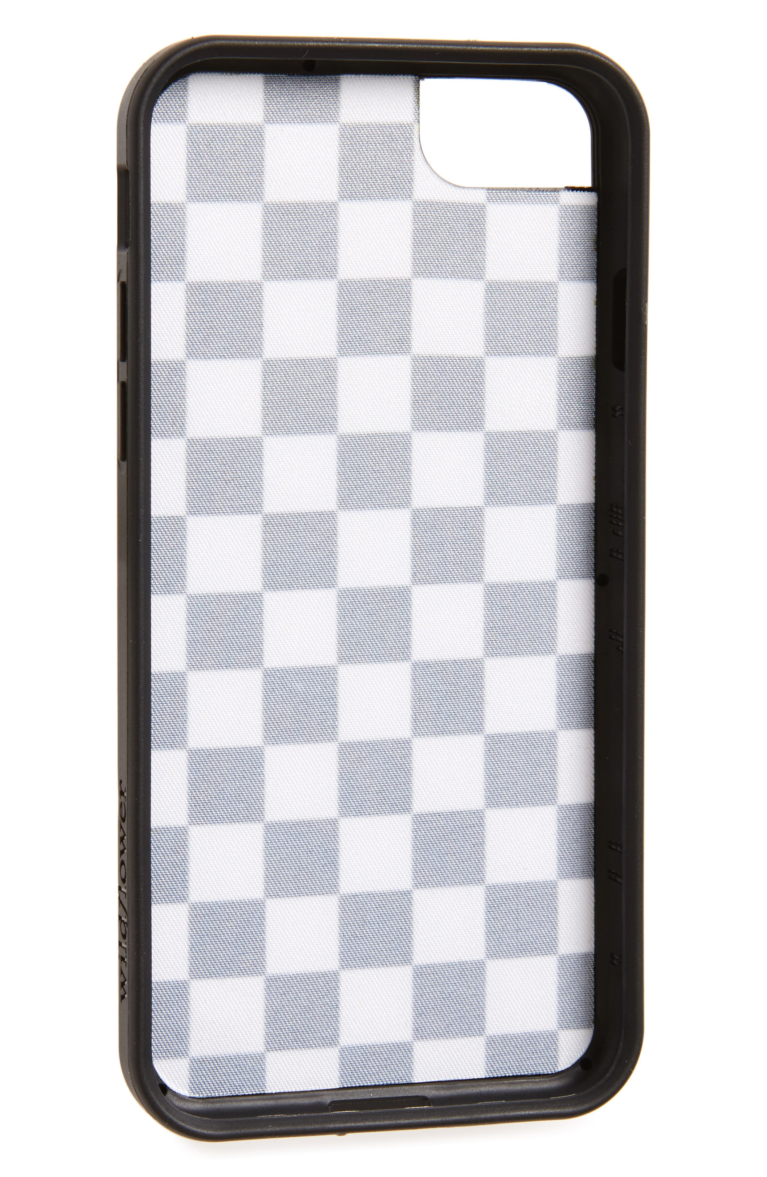 Checkerboard iPhone 7 Case,                             Alternate thumbnail 2, color,                             001