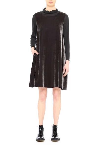 Velvet Turtleneck Dress, video thumbnail