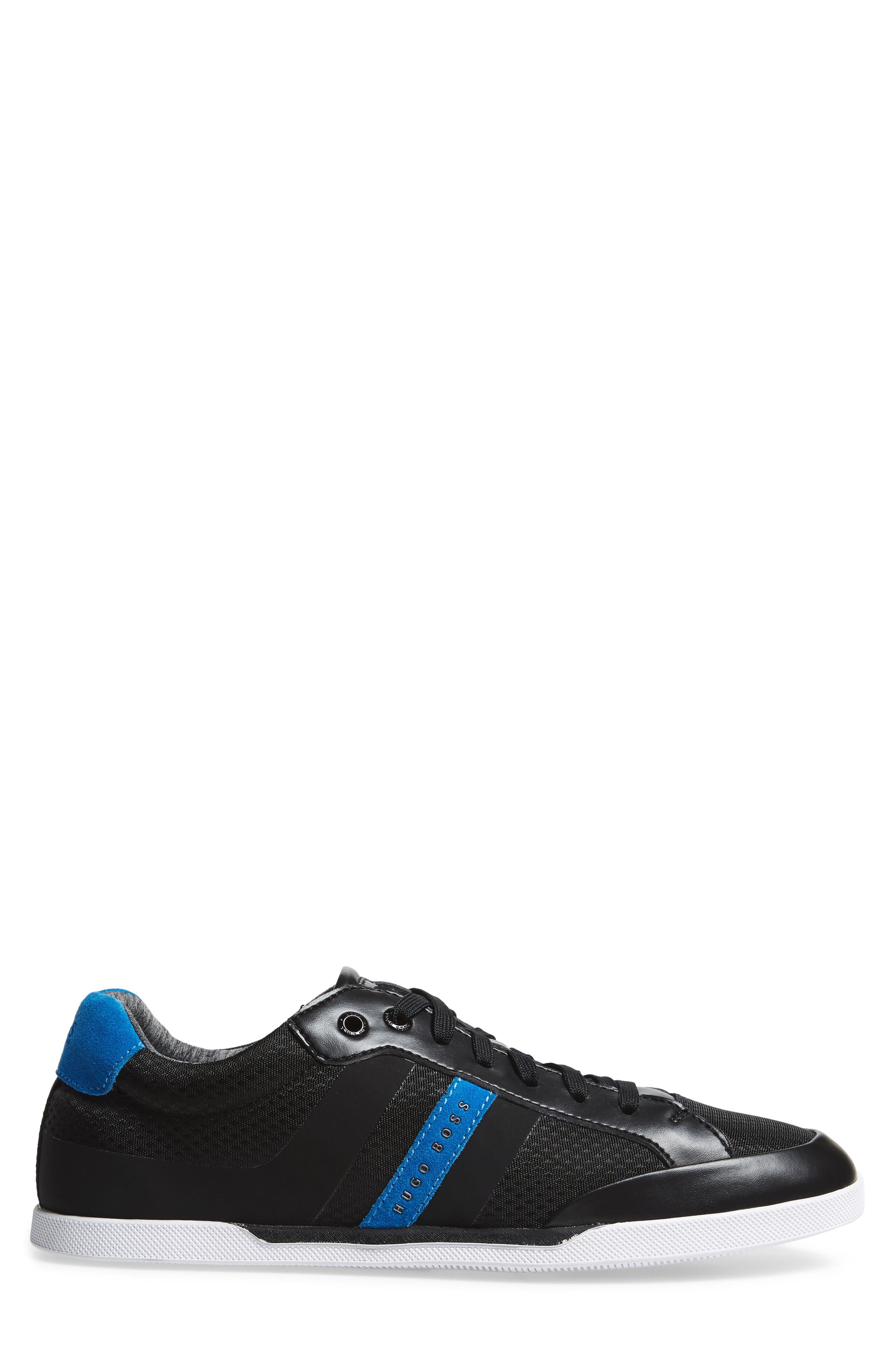 Shuttle Sneaker,                             Alternate thumbnail 3, color,                             BLACK