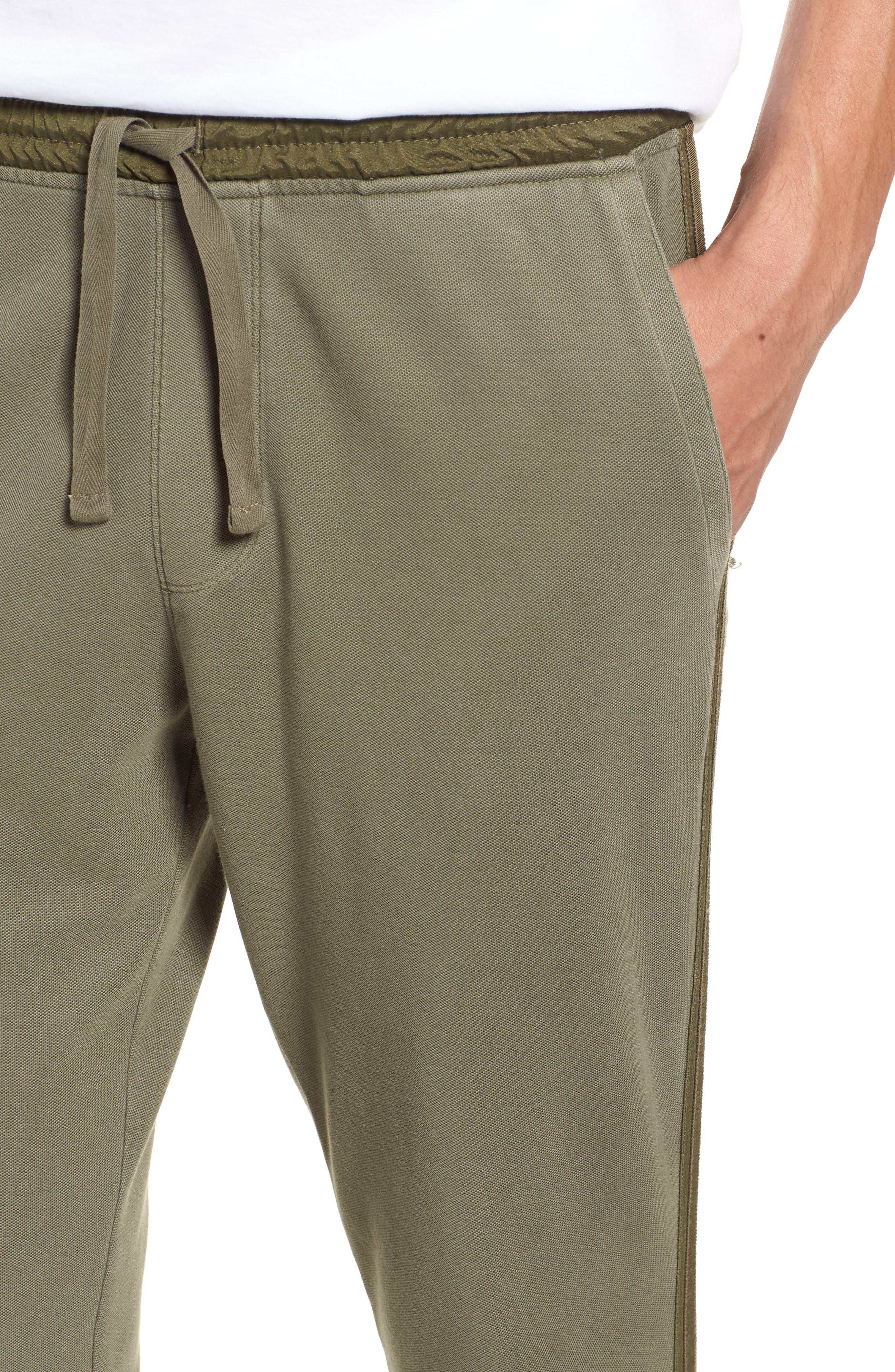 Chroma Wash Regular Fit Piqué Pants,                             Alternate thumbnail 4, color,                             331