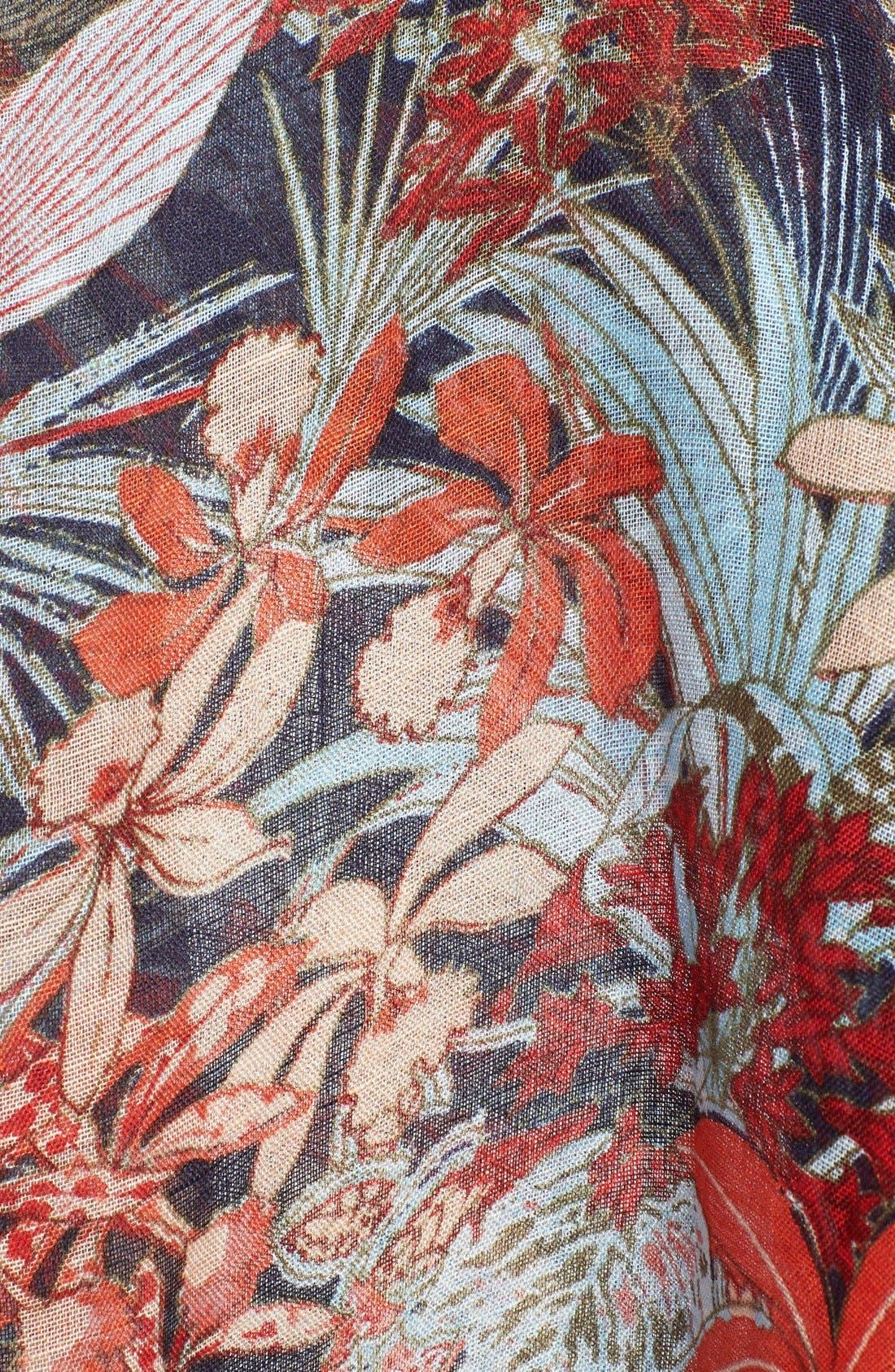 TORY BURCH,                             'Calthea' Scarf,                             Alternate thumbnail 2, color,                             250