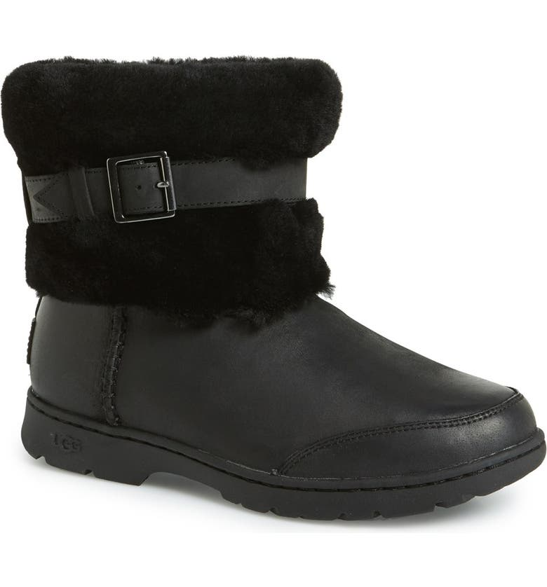 Australia 'Brielle' Waterproof Boot with Genuine Shearling Cuff, ...