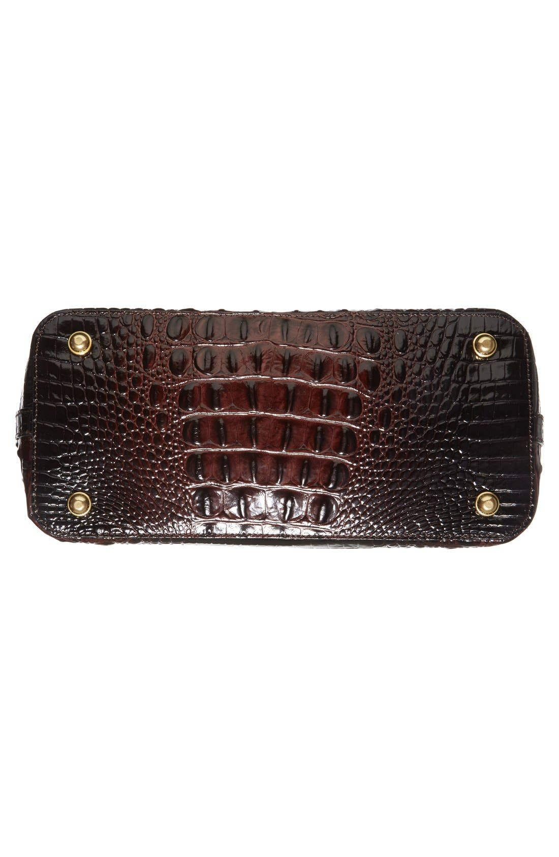 'Medium Duxbury' Croc Embossed Leather Satchel,                             Alternate thumbnail 36, color,