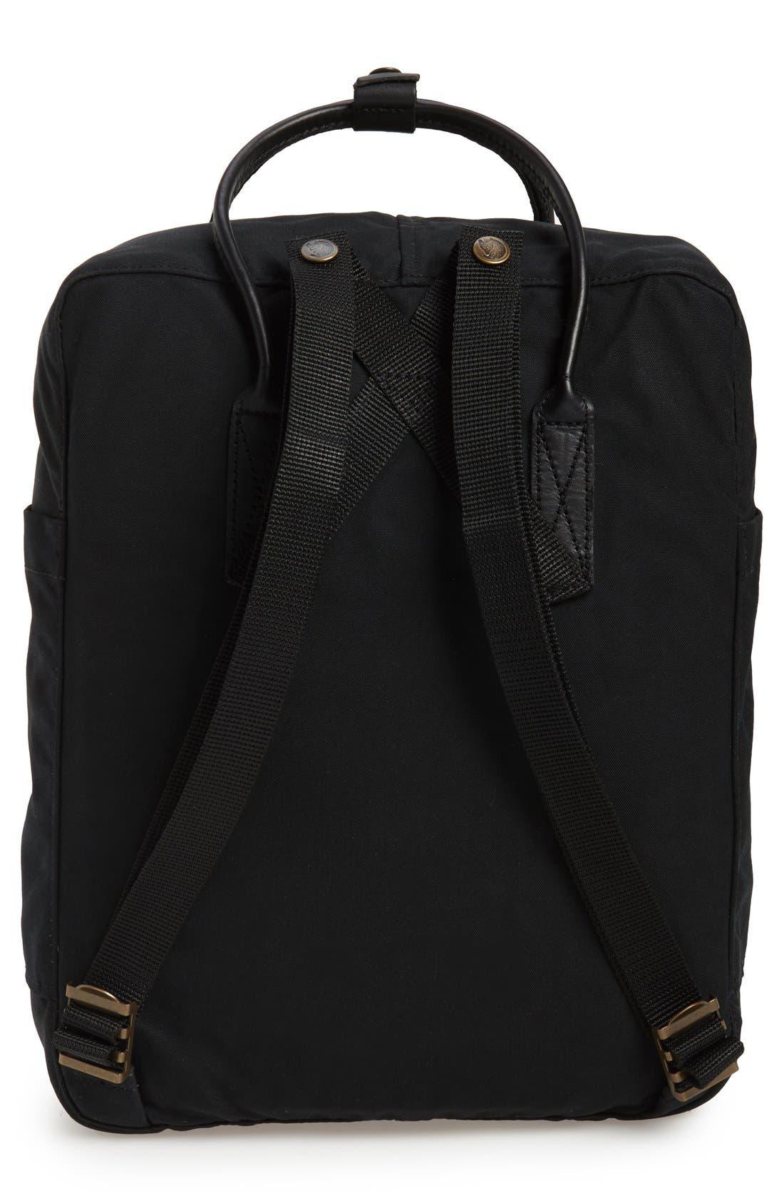 'Kånken No. 2' Water Resistant Backpack,                             Alternate thumbnail 5, color,                             BLACK