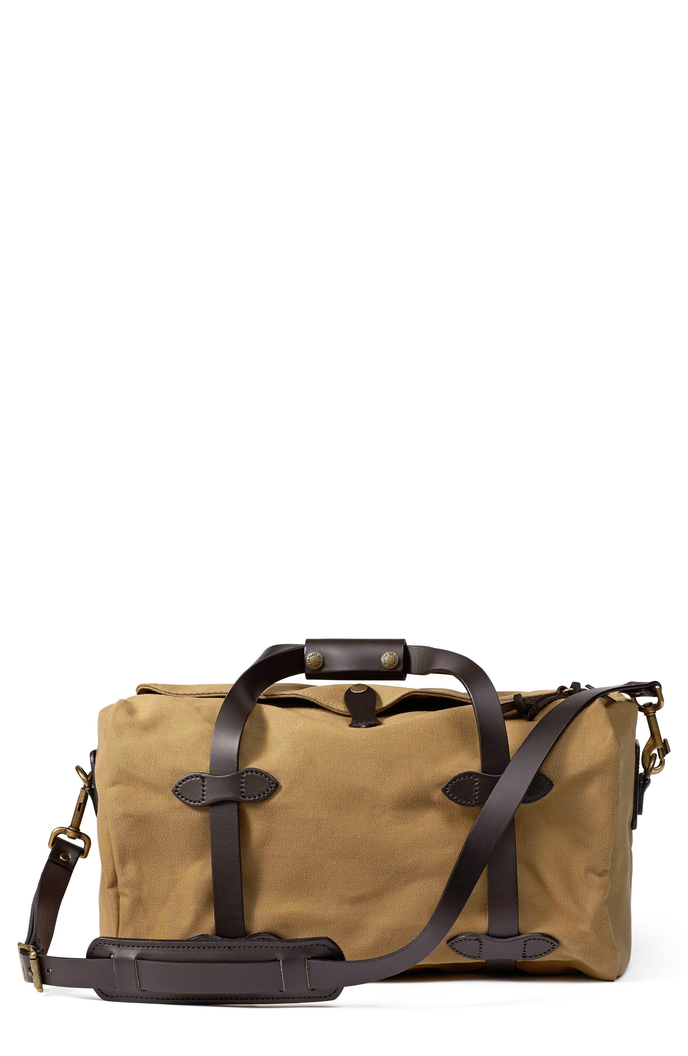 Small Duffel Bag,                             Main thumbnail 1, color,                             TAN