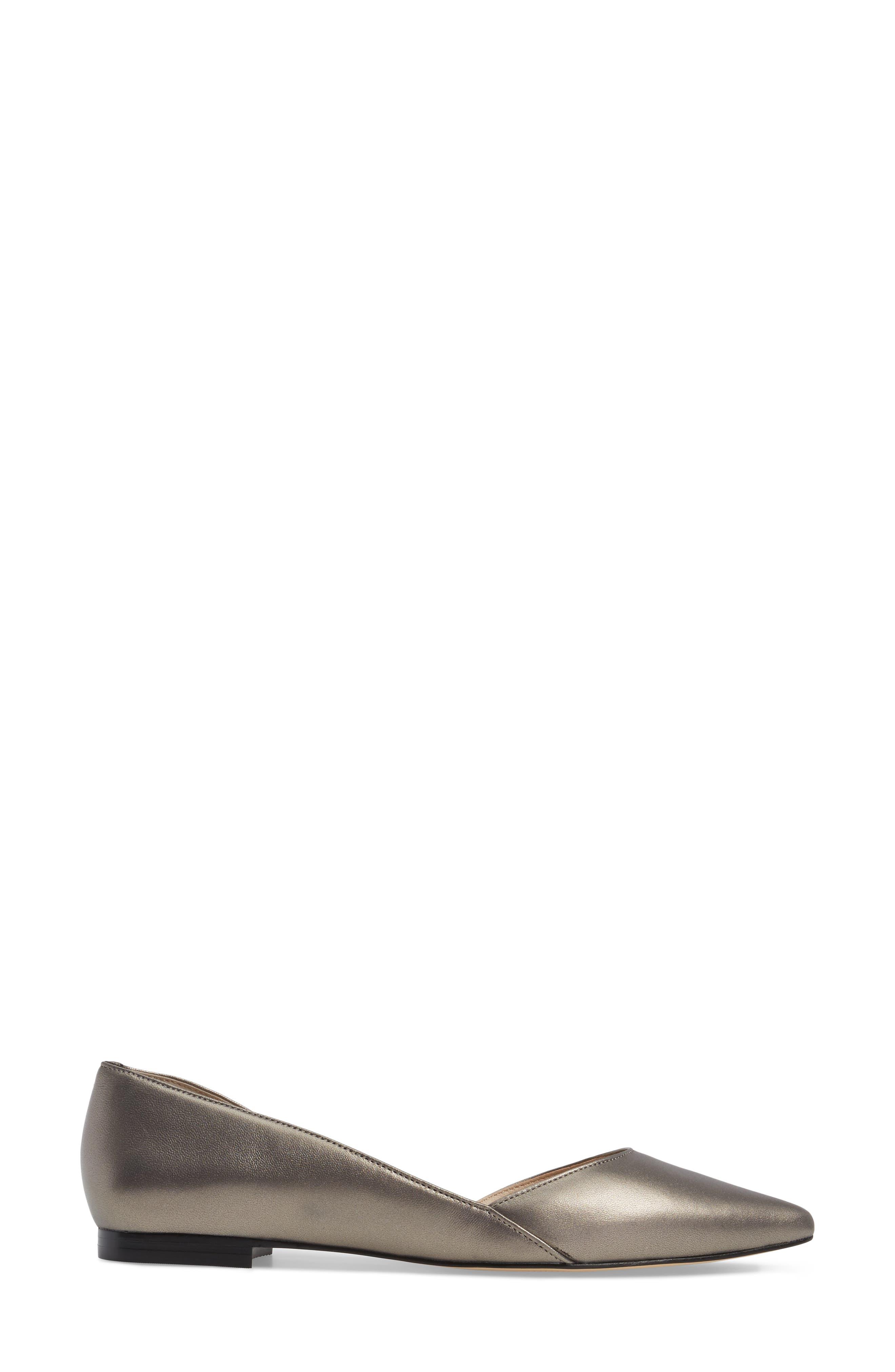 'Sunny' Half d'Orsay Flat,                             Alternate thumbnail 125, color,