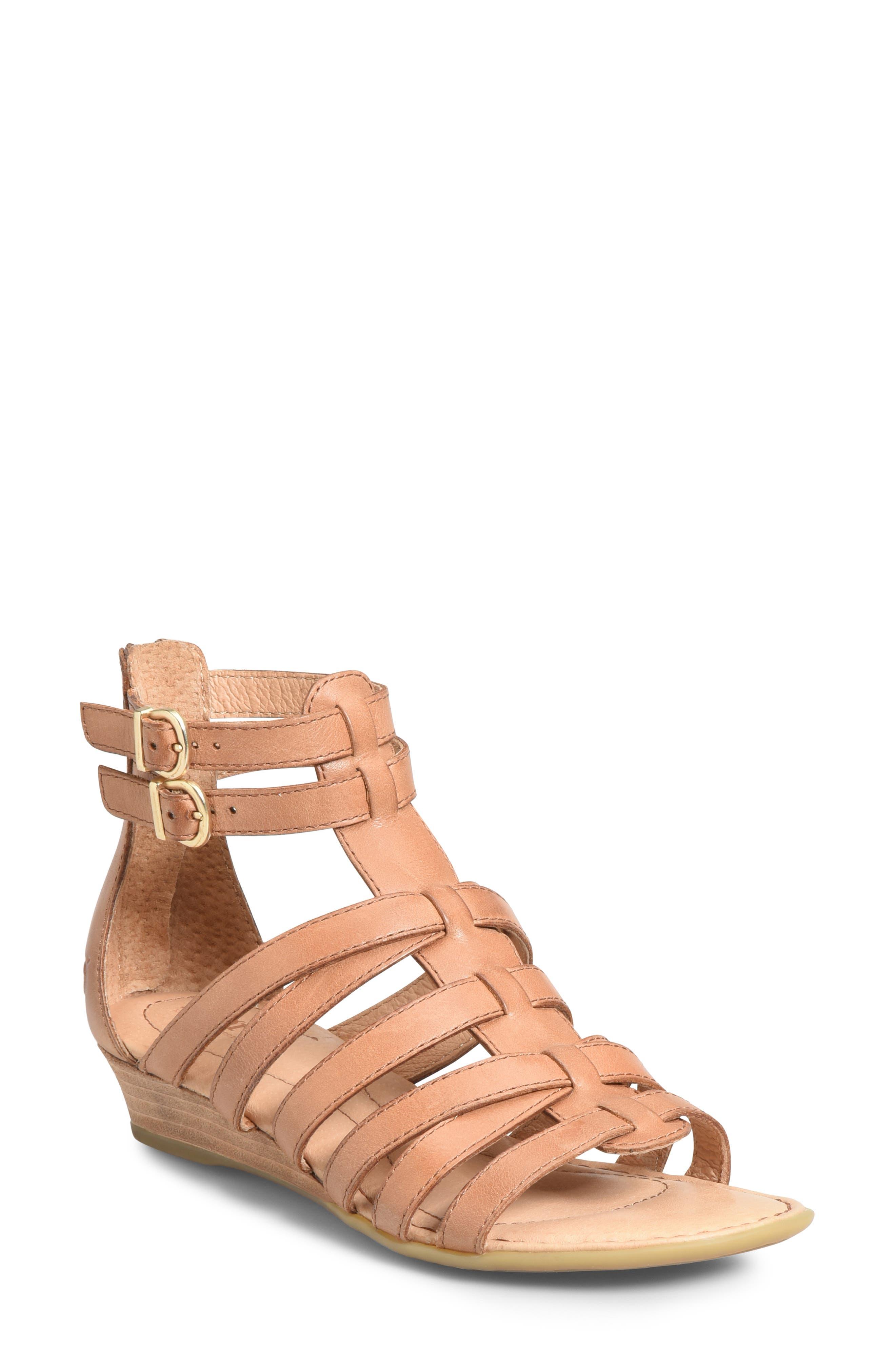 B?rn Challis Gladiator Sandal, Brown