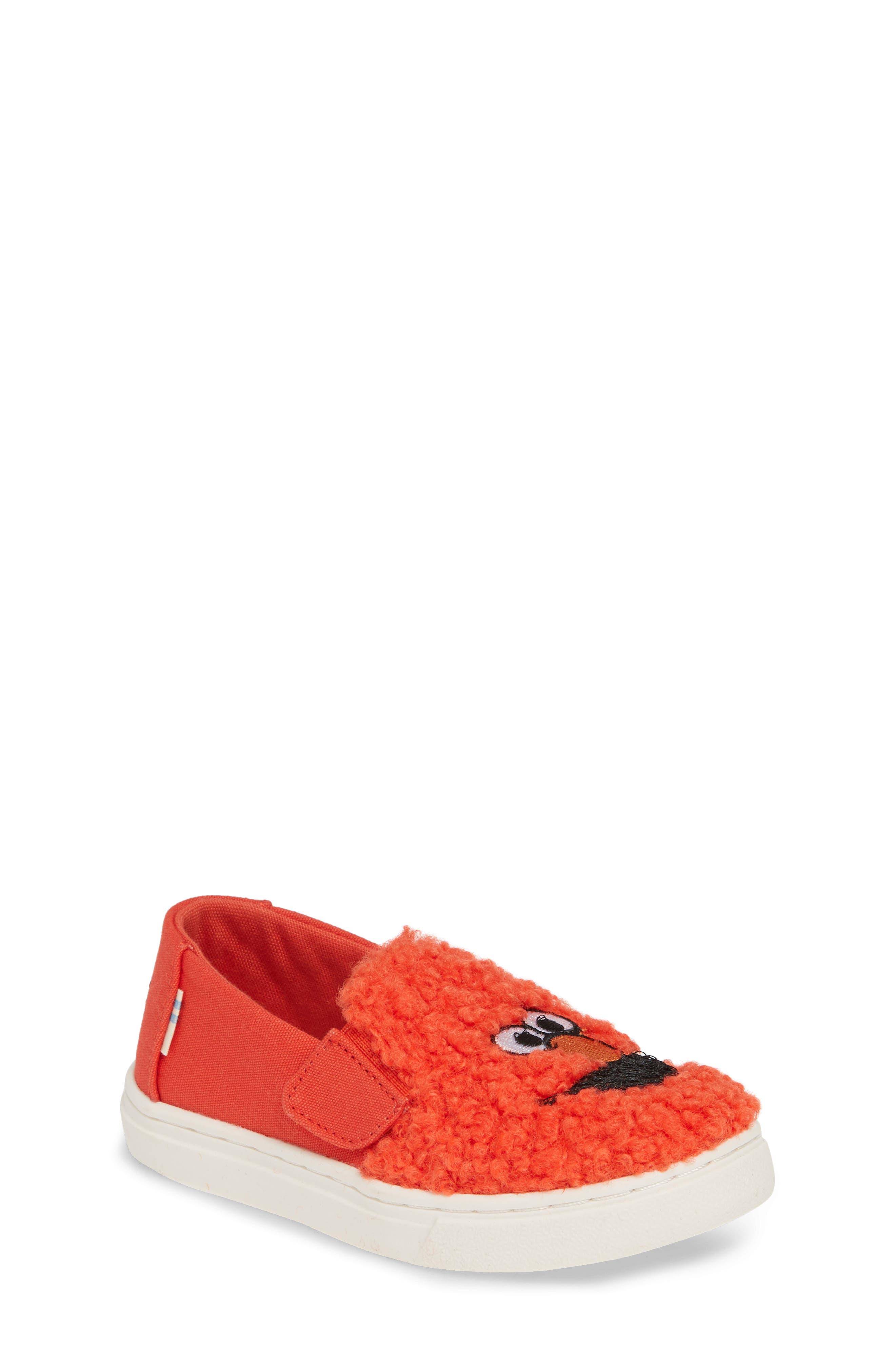 Toms X Sesame Street Luca - Elmo Slip-On Sneaker