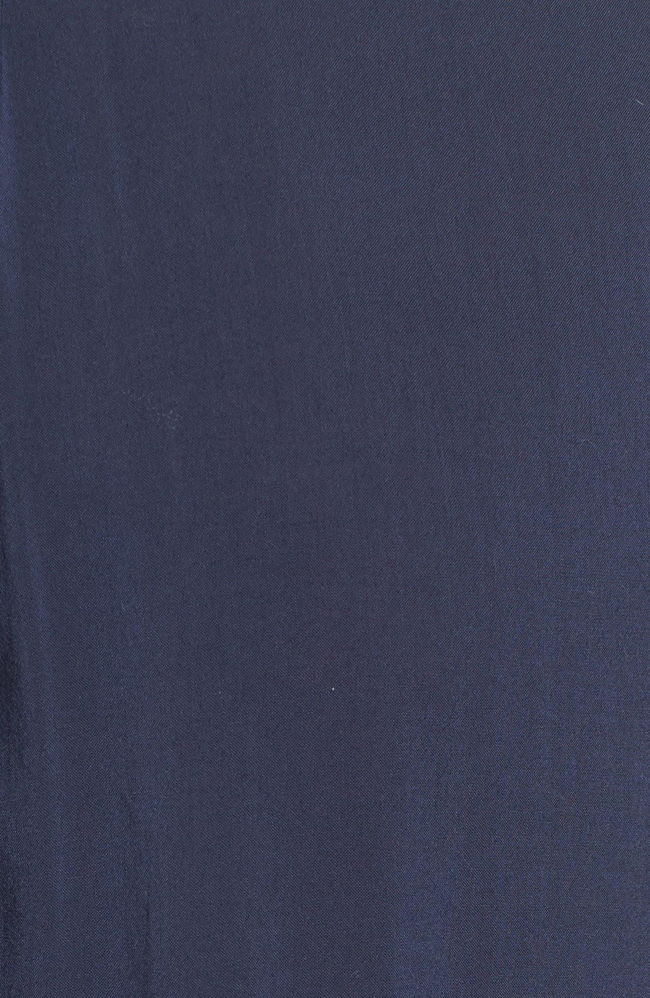 Lace Trim Sleeveless Blouse,                             Alternate thumbnail 5, color,                             POSTMAN
