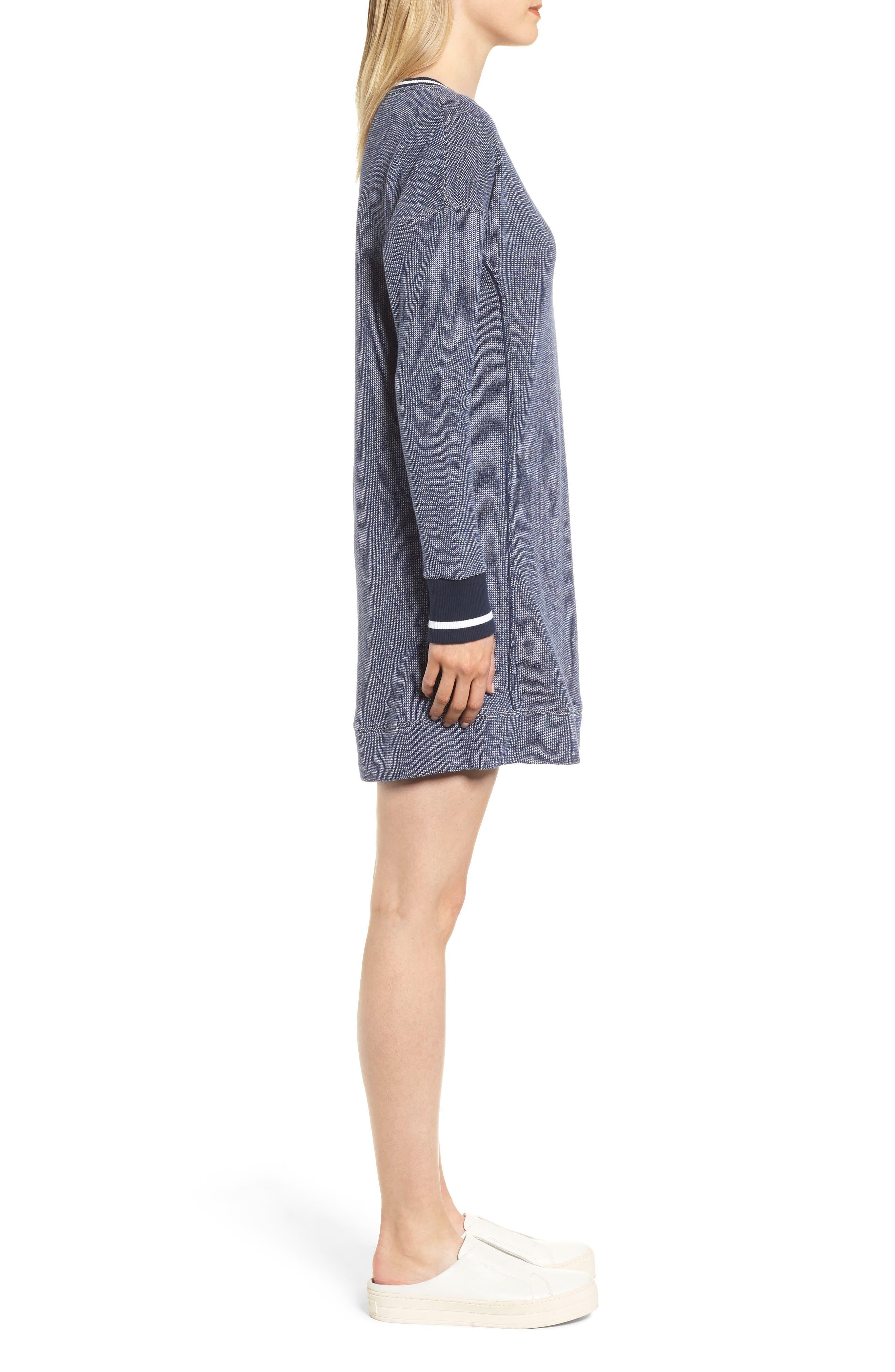 Sweatshirt Dress,                             Alternate thumbnail 3, color,                             476