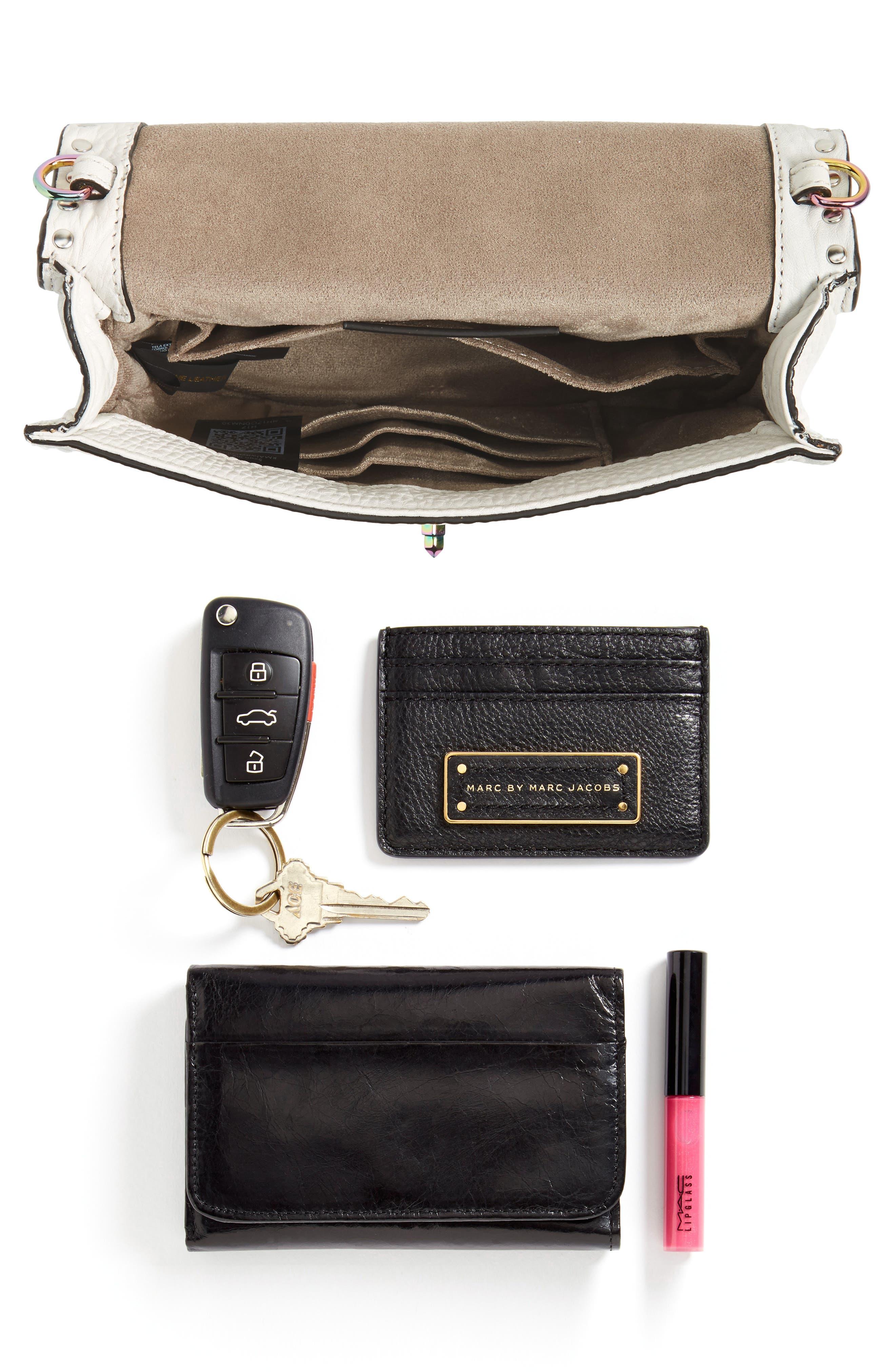 Darren Leather Top Handle Crossbody Bag,                             Alternate thumbnail 7, color,                             151
