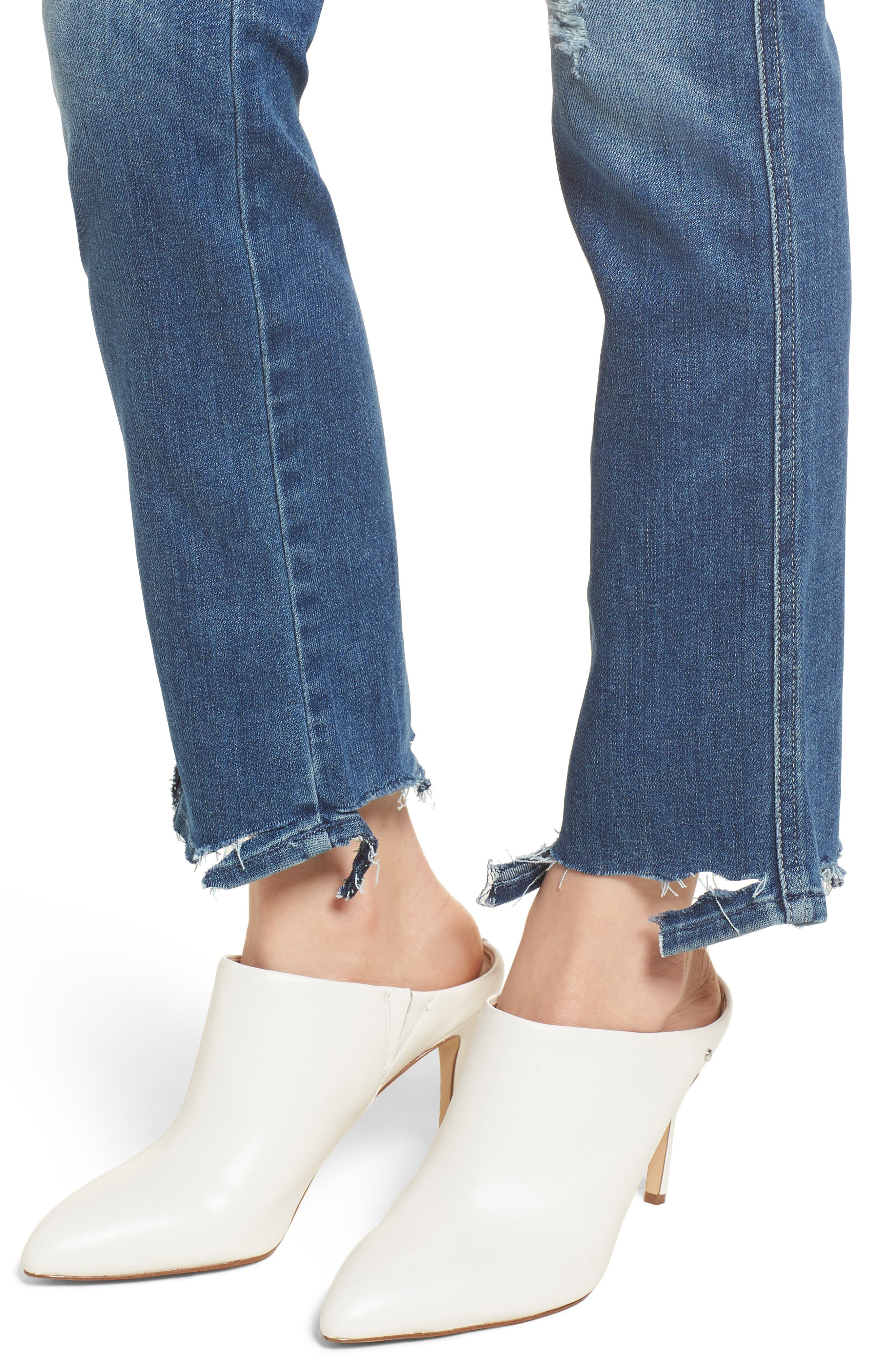 The Rascal Ankle Straight Leg Jeans,                             Alternate thumbnail 4, color,                             420