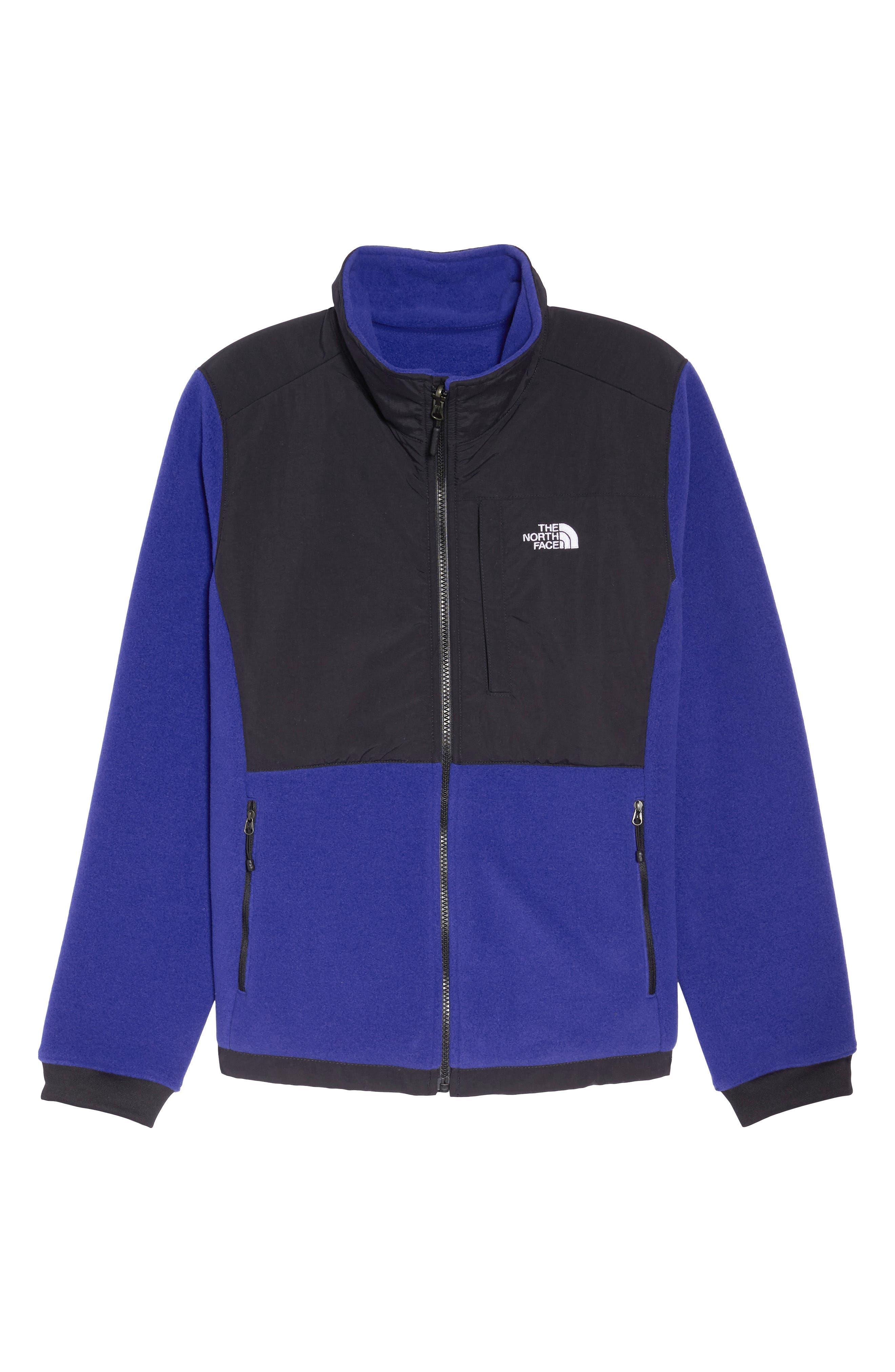 Denali 2 Jacket,                             Alternate thumbnail 6, color,                             LAPIS BLUE/ TNF BLACK