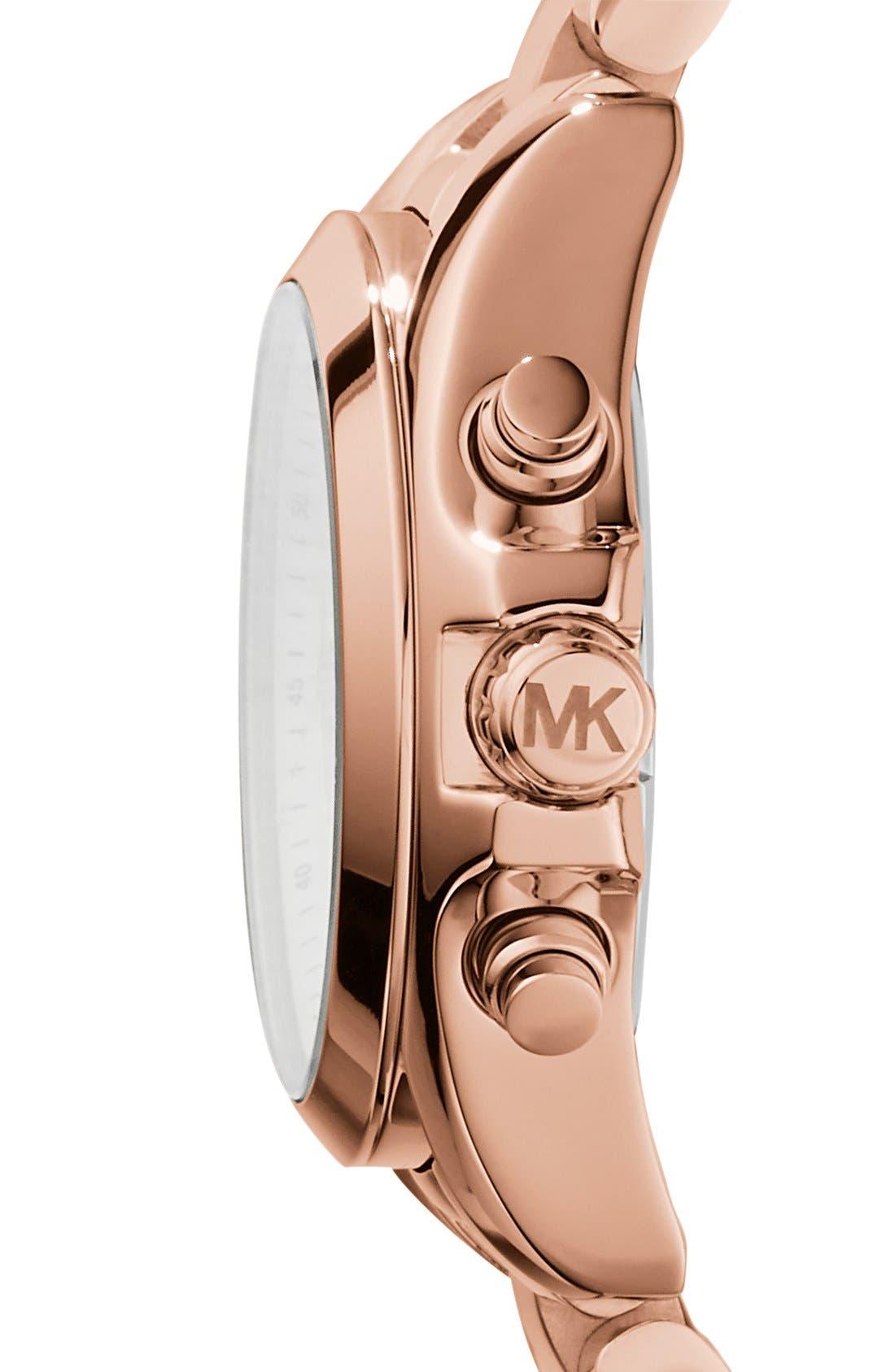 'Bradshaw - Mini' Chronograph Bracelet Watch, 36mm,                             Alternate thumbnail 10, color,