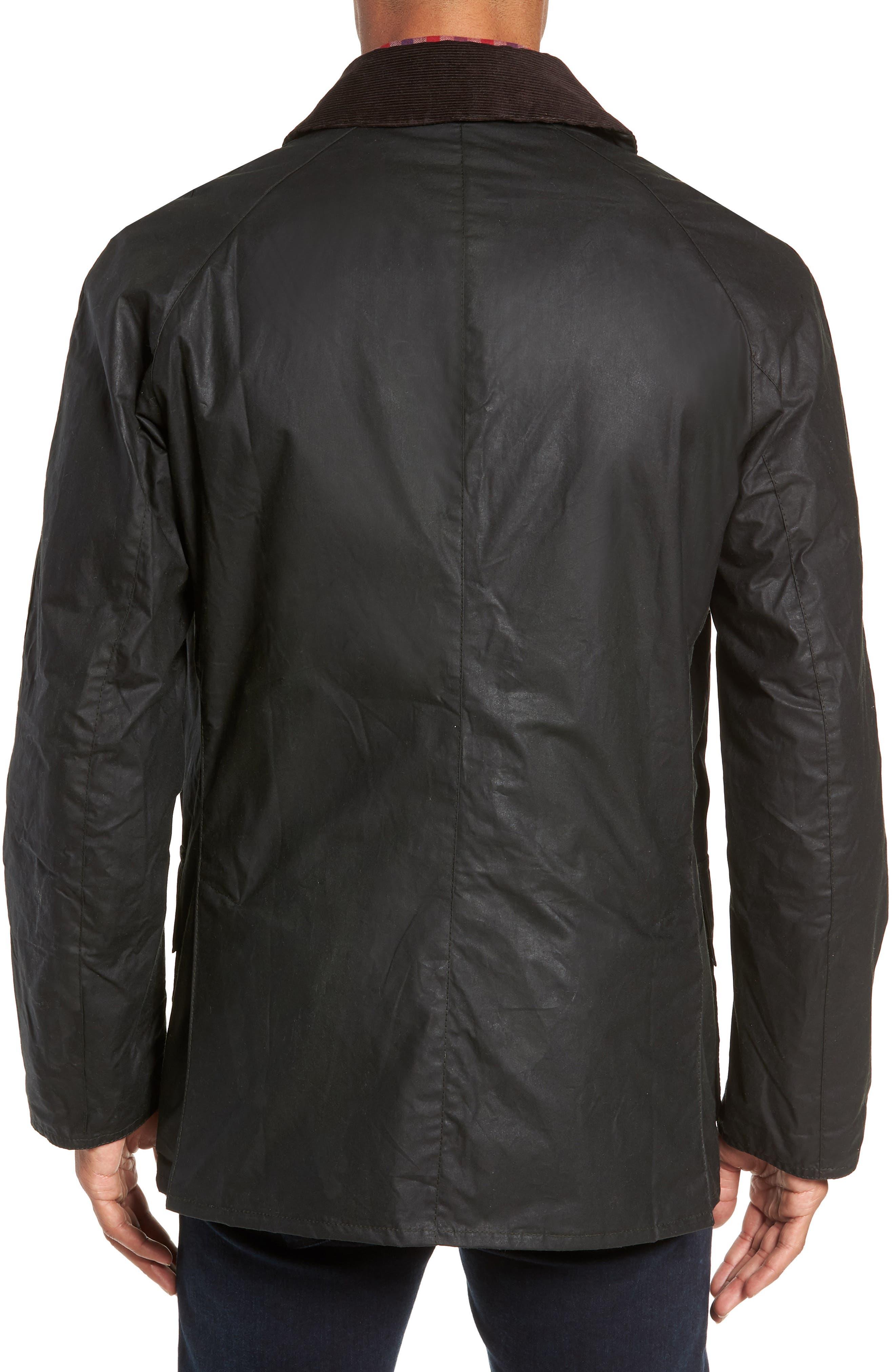 Lightweight Ashby Wax Jacket,                             Alternate thumbnail 2, color,                             SAGE