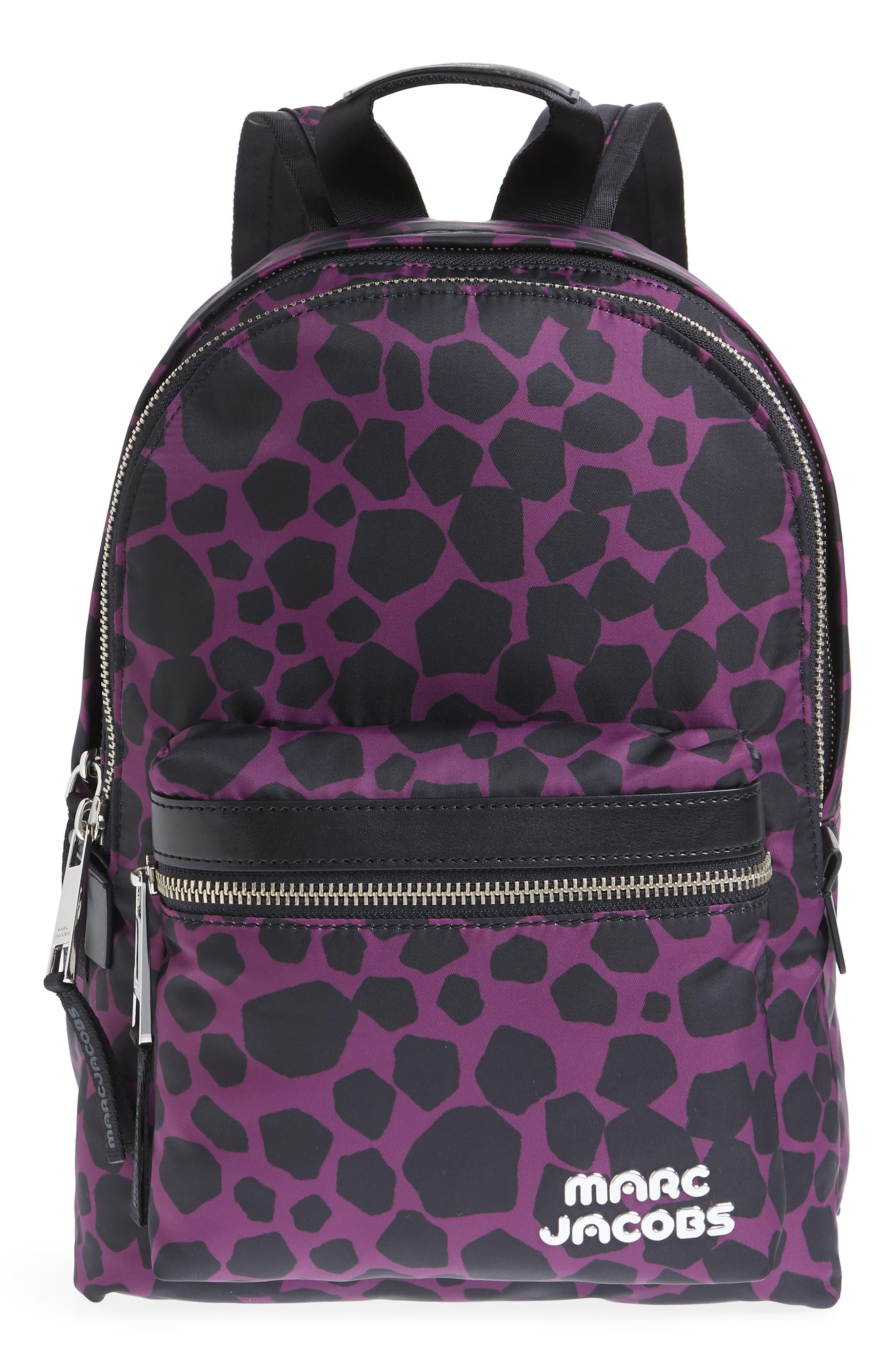 Medium Trek Pack Pebbles Backpack,                         Main,                         color, BERRY MULTI