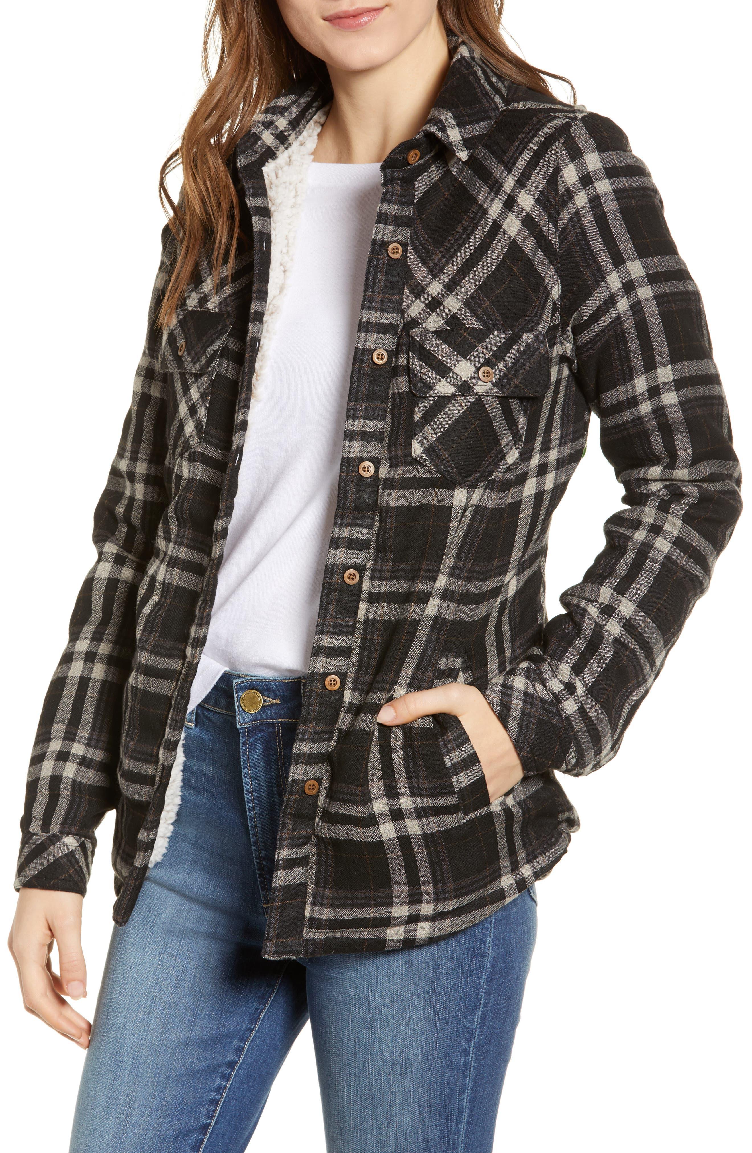 Thread & Supply Newark Fleece Lined Shirt Jacket