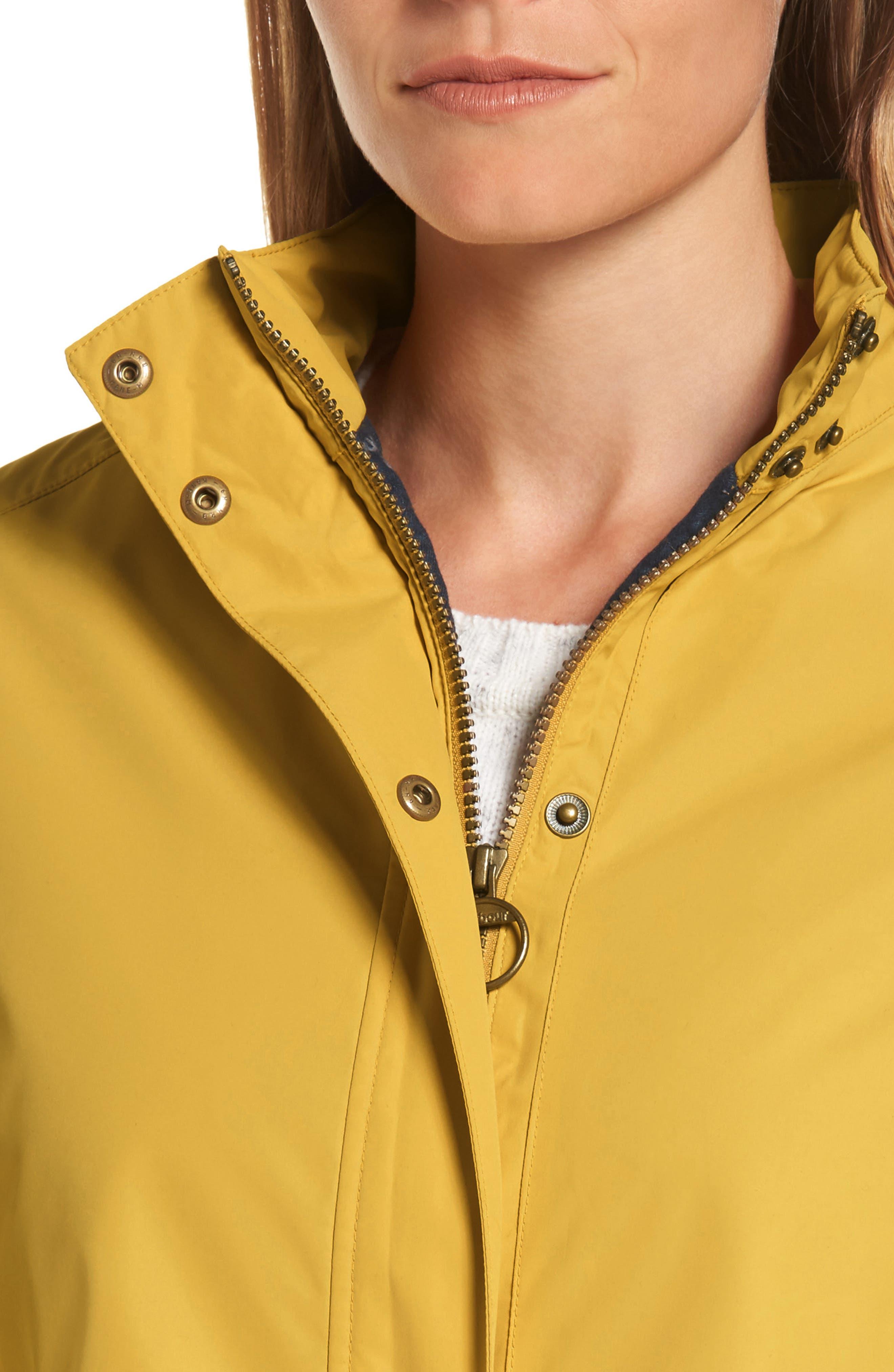 Stratus Hooded Waterproof Jacket,                             Alternate thumbnail 4, color,                             740
