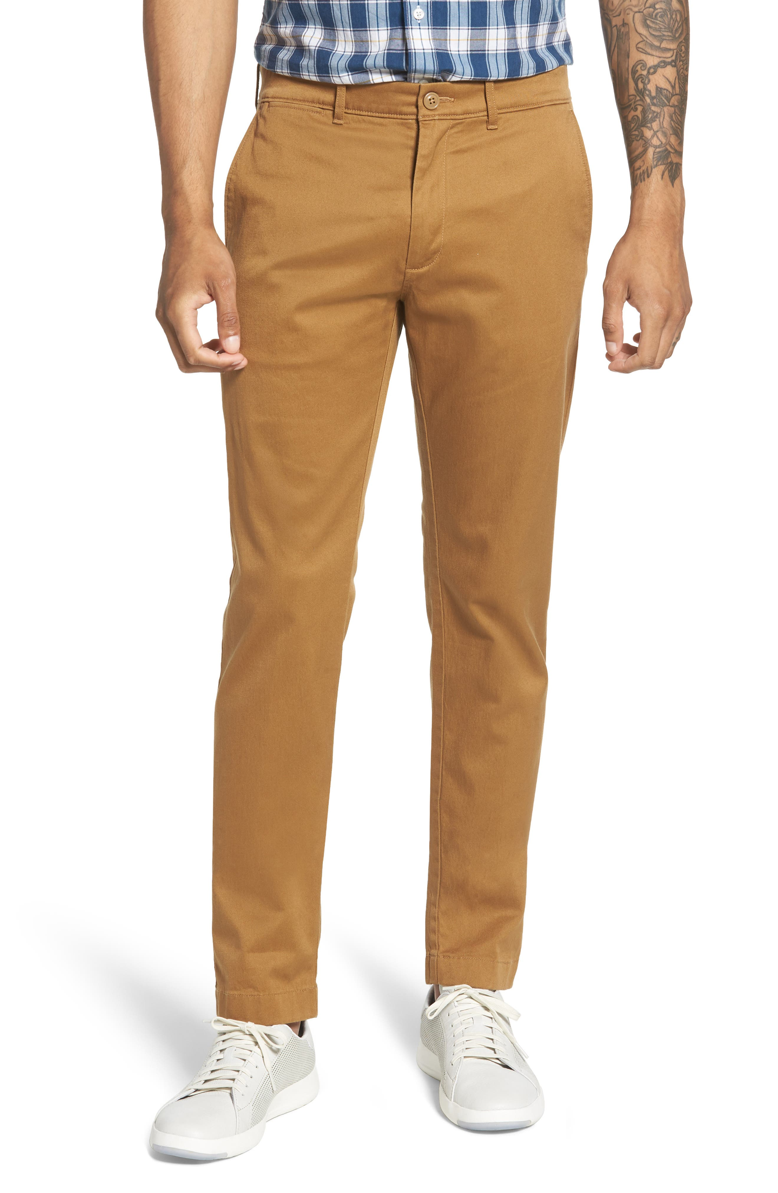 484 Slim Fit Stretch Chino Pants,                             Main thumbnail 5, color,