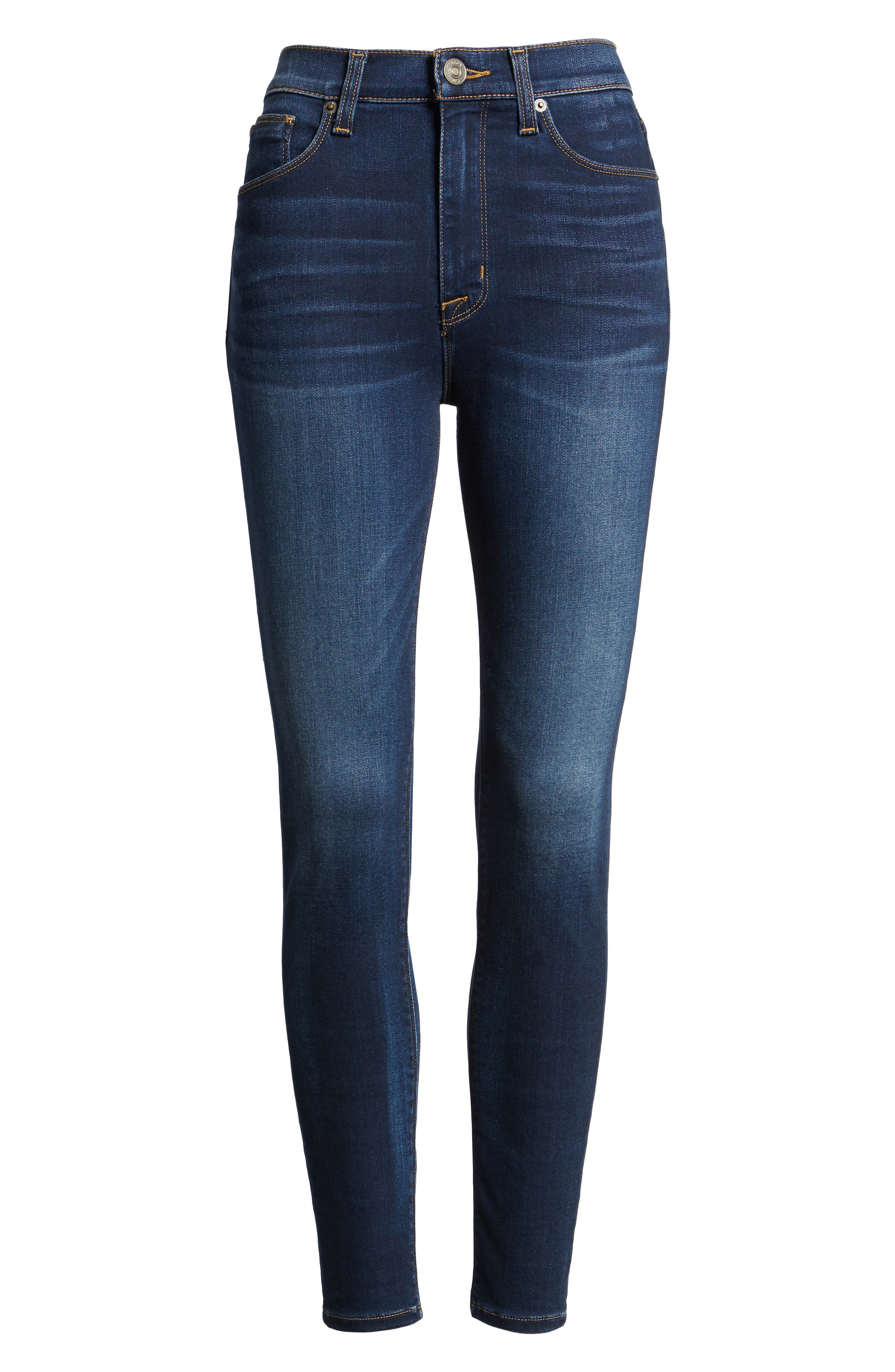Barbara High Waist Super Skinny Jeans,                             Alternate thumbnail 12, color,