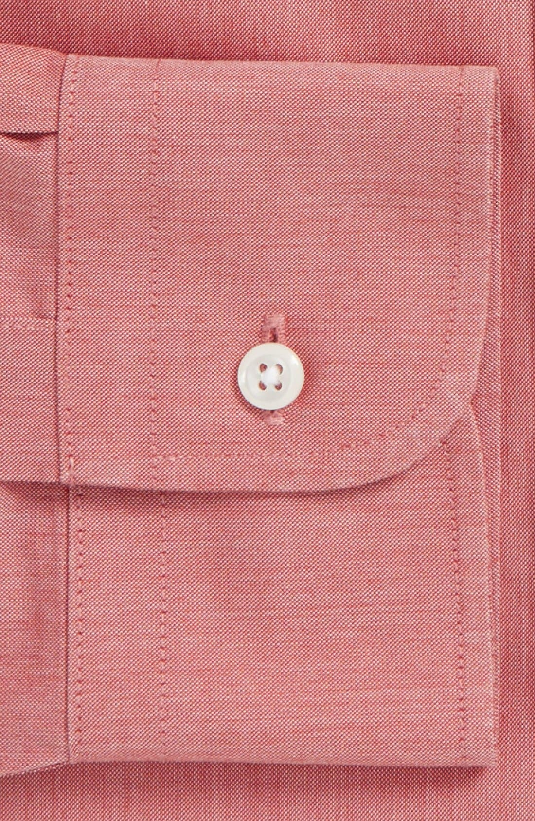 Smartcare<sup>™</sup> Traditional Fit Pinpoint Dress Shirt,                             Alternate thumbnail 72, color,