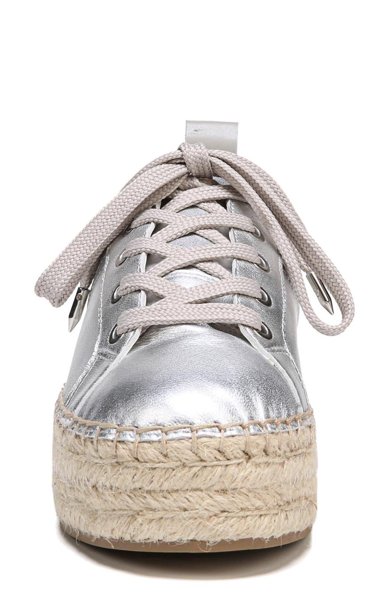 Carleigh Espadrille Sneaker,                             Alternate thumbnail 4, color,                             040