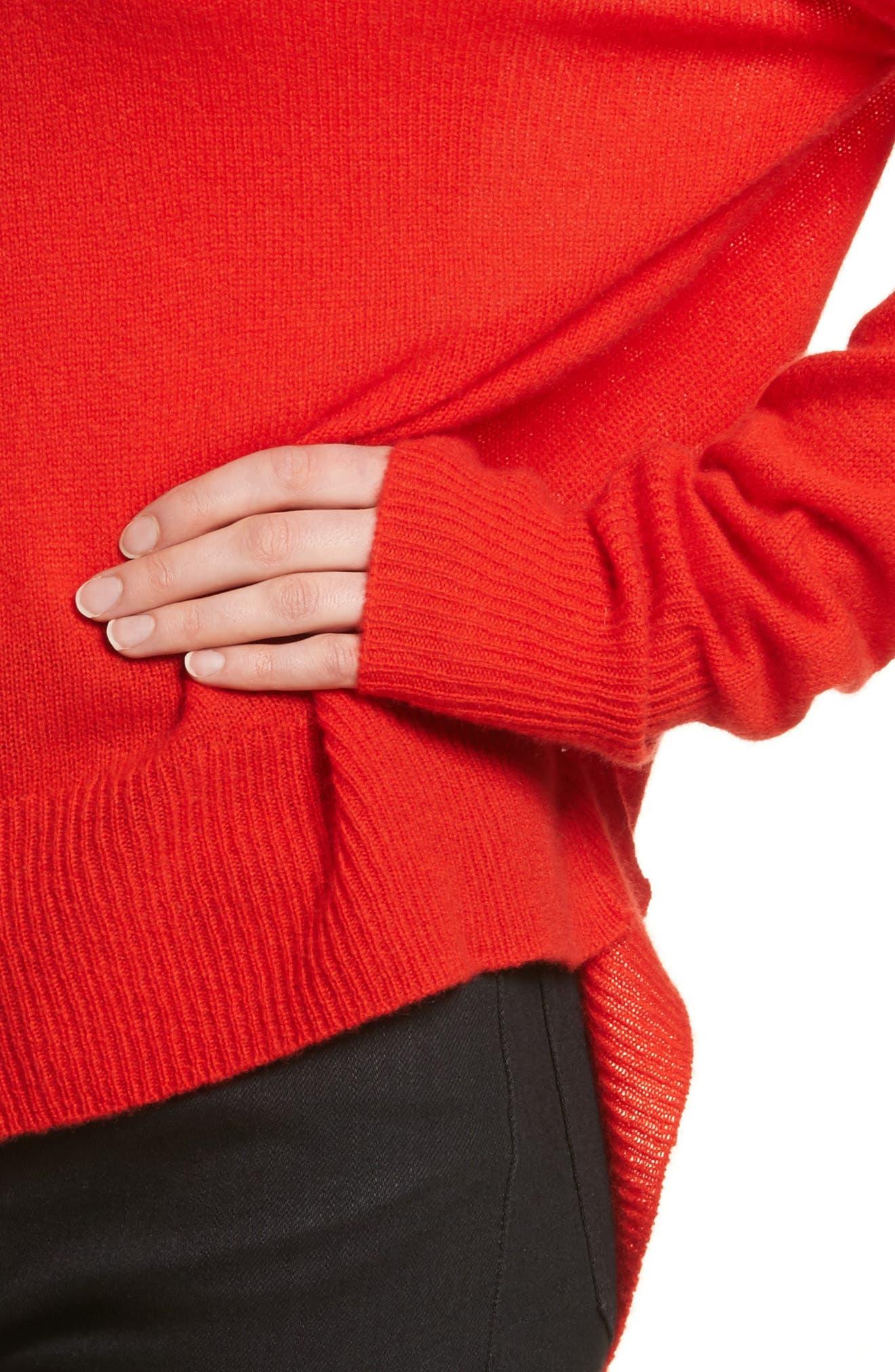 Karenia L Cashmere Sweater,                             Alternate thumbnail 16, color,