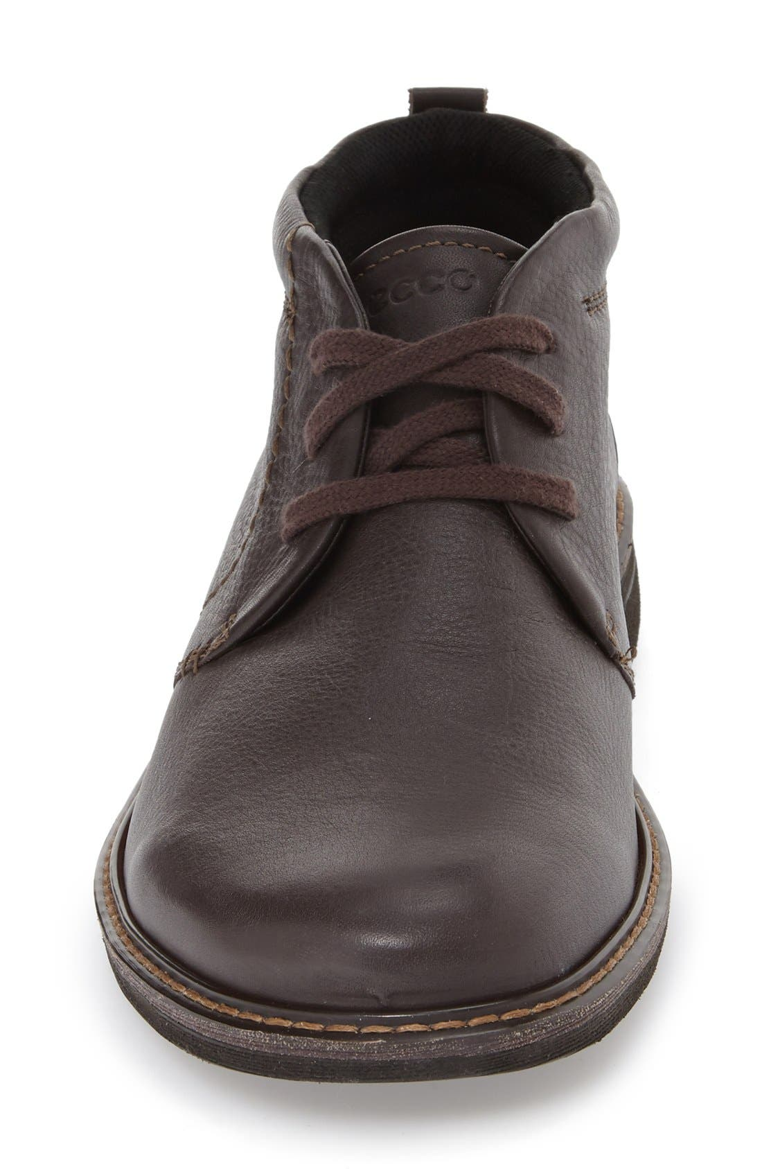 'Turn' Chukka Boot,                             Alternate thumbnail 6, color,                             COFFEE LEATHER