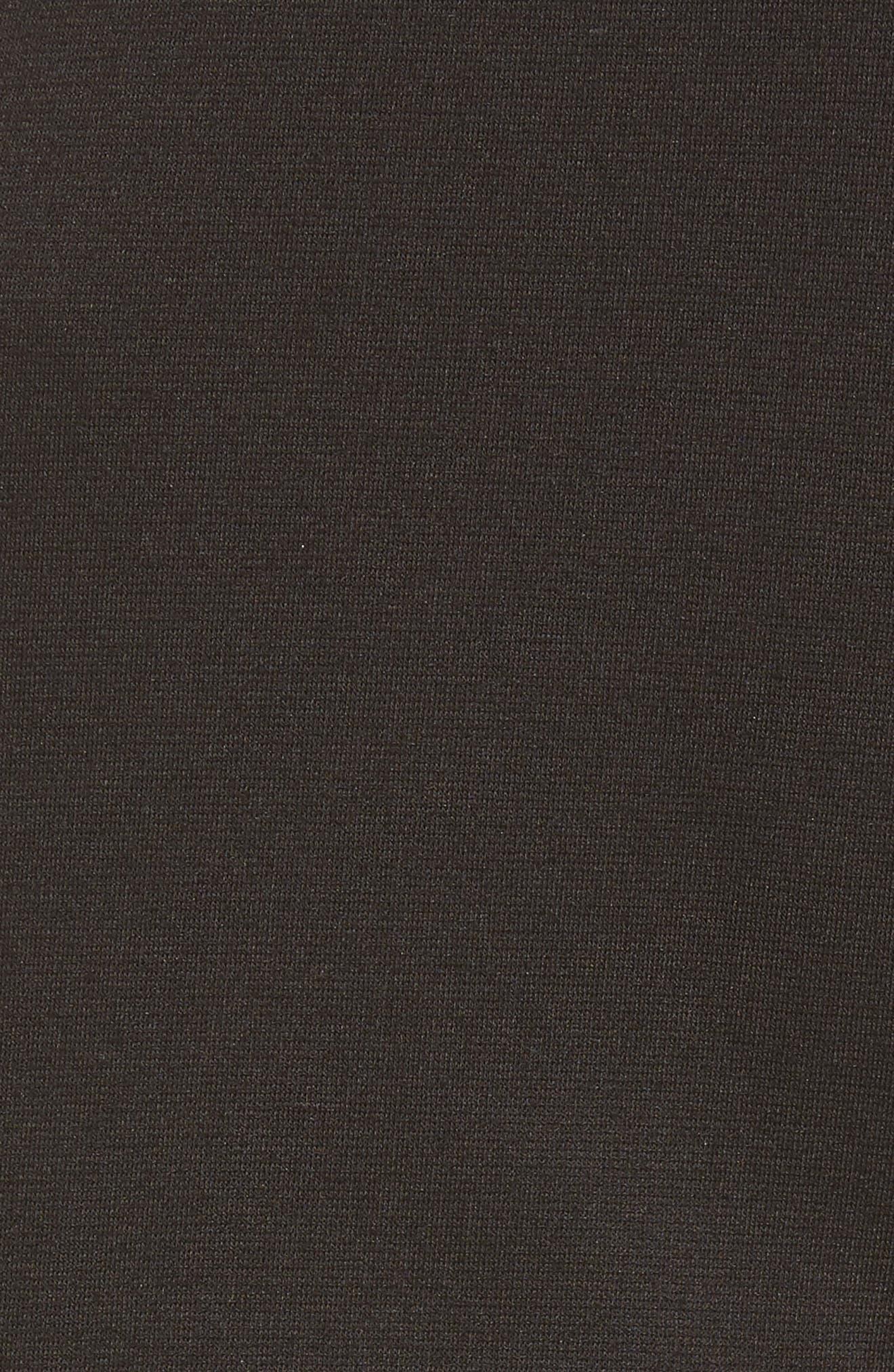 BP.,                             Crop Ruffle Hem Pants,                             Alternate thumbnail 6, color,                             001