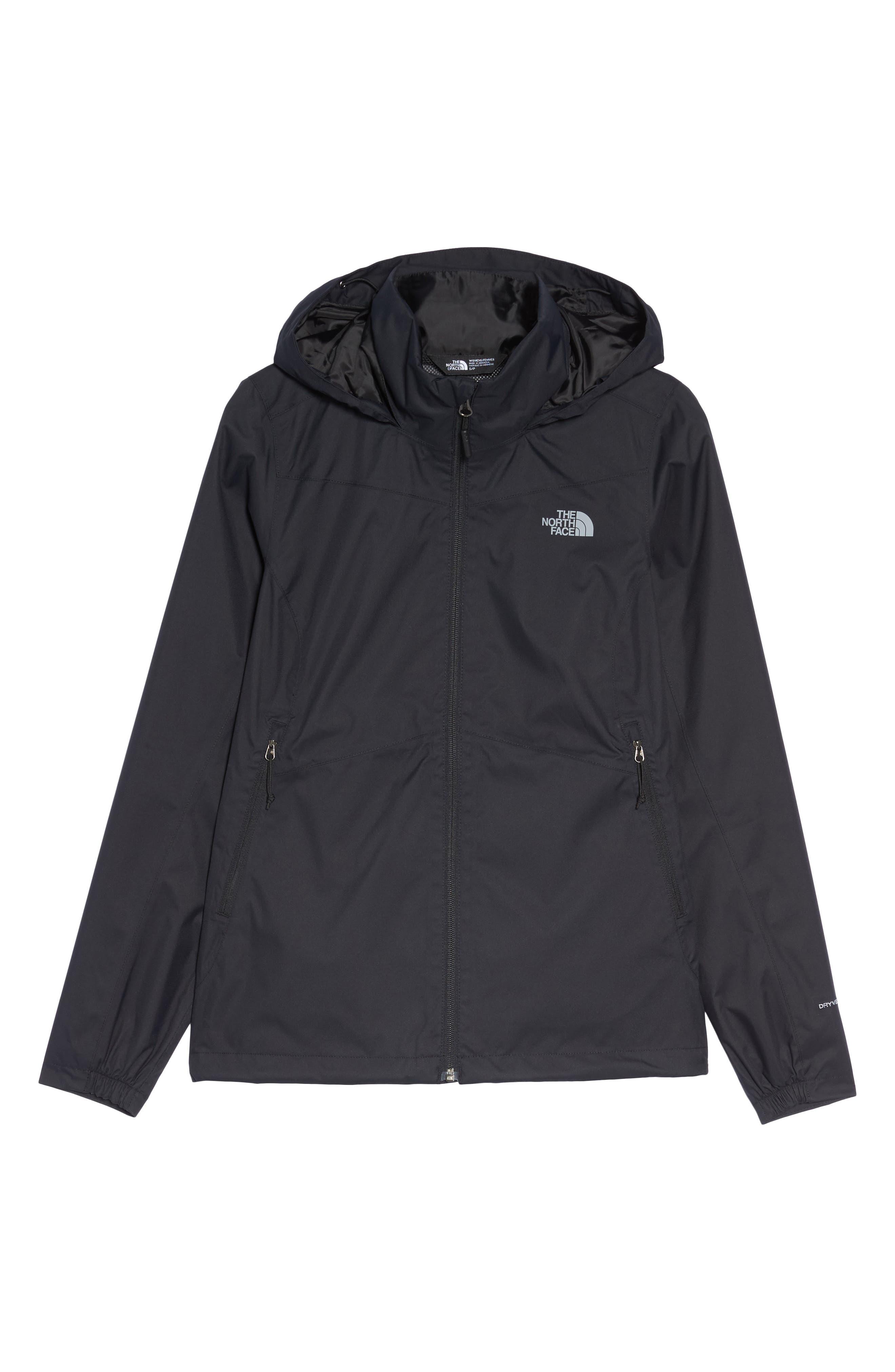 'Resolve Plus' Waterproof Jacket,                             Alternate thumbnail 6, color,                             TNF BLACK