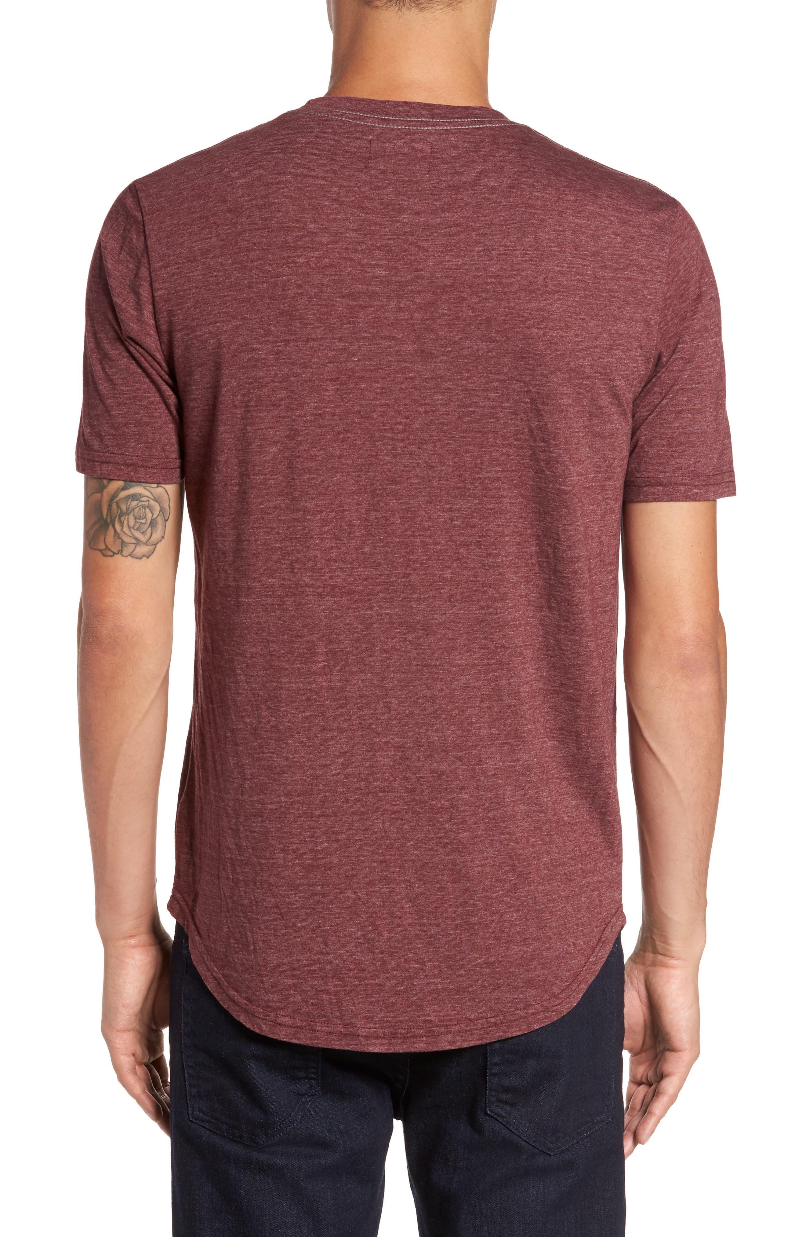 Scallop Triblend Crewneck T-Shirt,                             Alternate thumbnail 46, color,