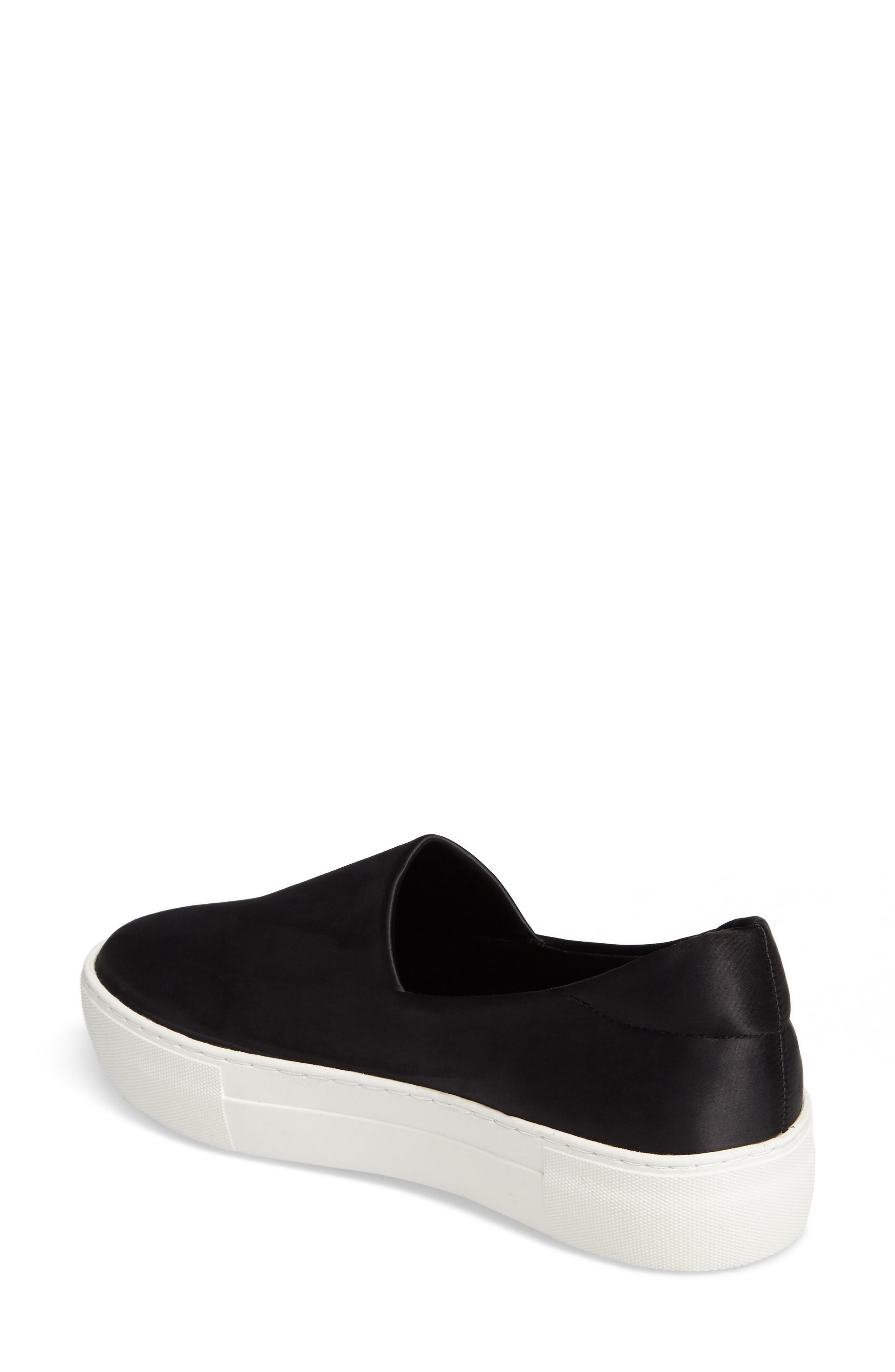 Abba Slip-On Platform Sneaker,                             Alternate thumbnail 2, color,                             001