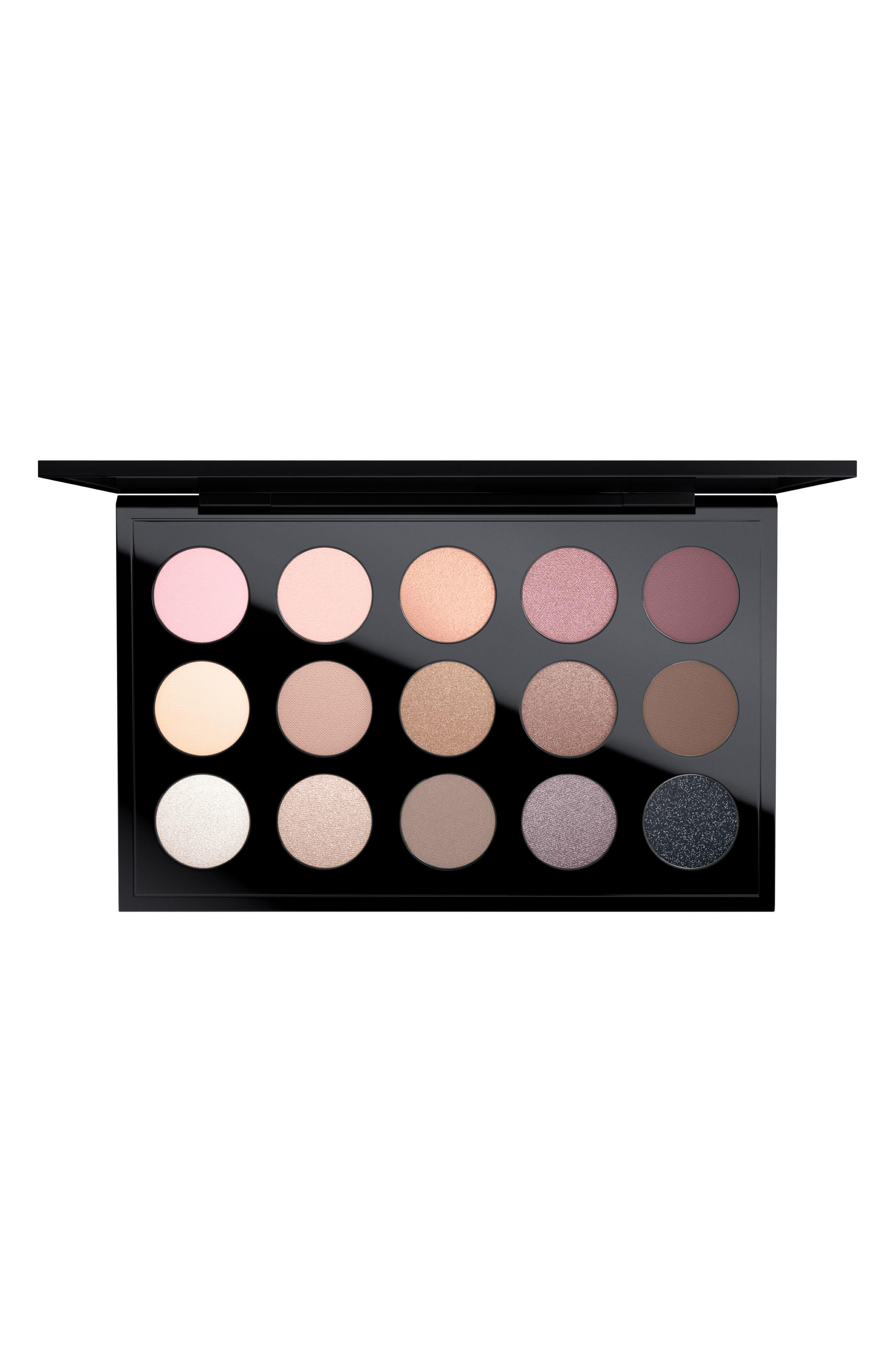 MAC Cool Neutral Times 15 Eyeshadow Palette,                         Main,                         color, COOL NEUTRAL
