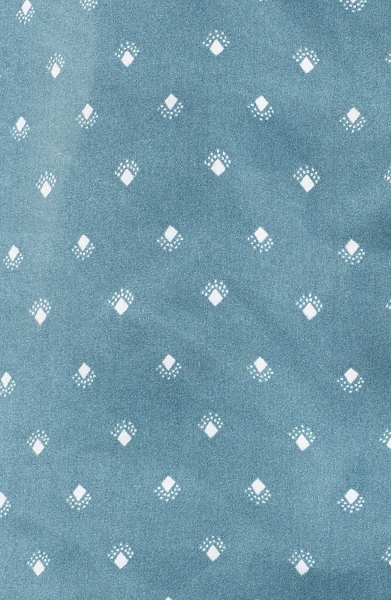 Short Satin Pajamas,                             Alternate thumbnail 14, color,