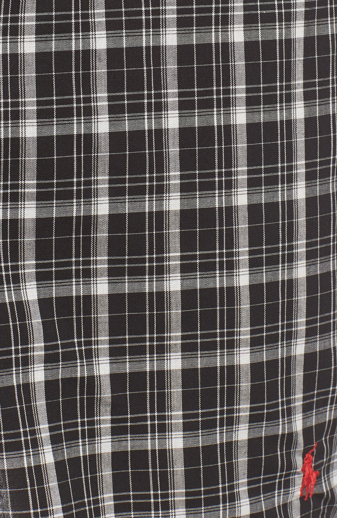 3-Pack Woven Cotton Boxers,                             Alternate thumbnail 6, color,                             POLO BLACK/ DOVER/ THOMAS