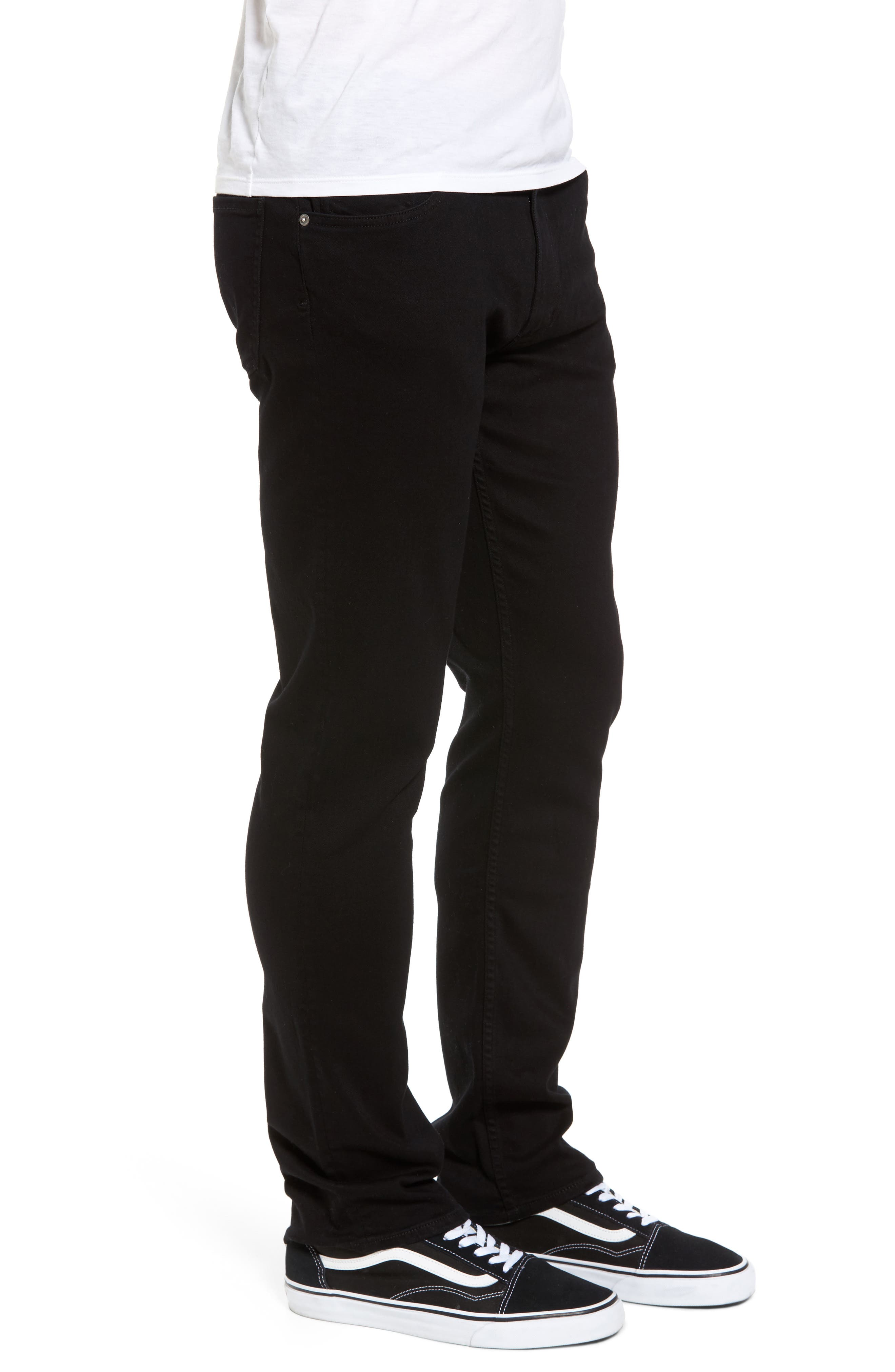 Bowery Slim Fit Jeans,                             Alternate thumbnail 3, color,                             007