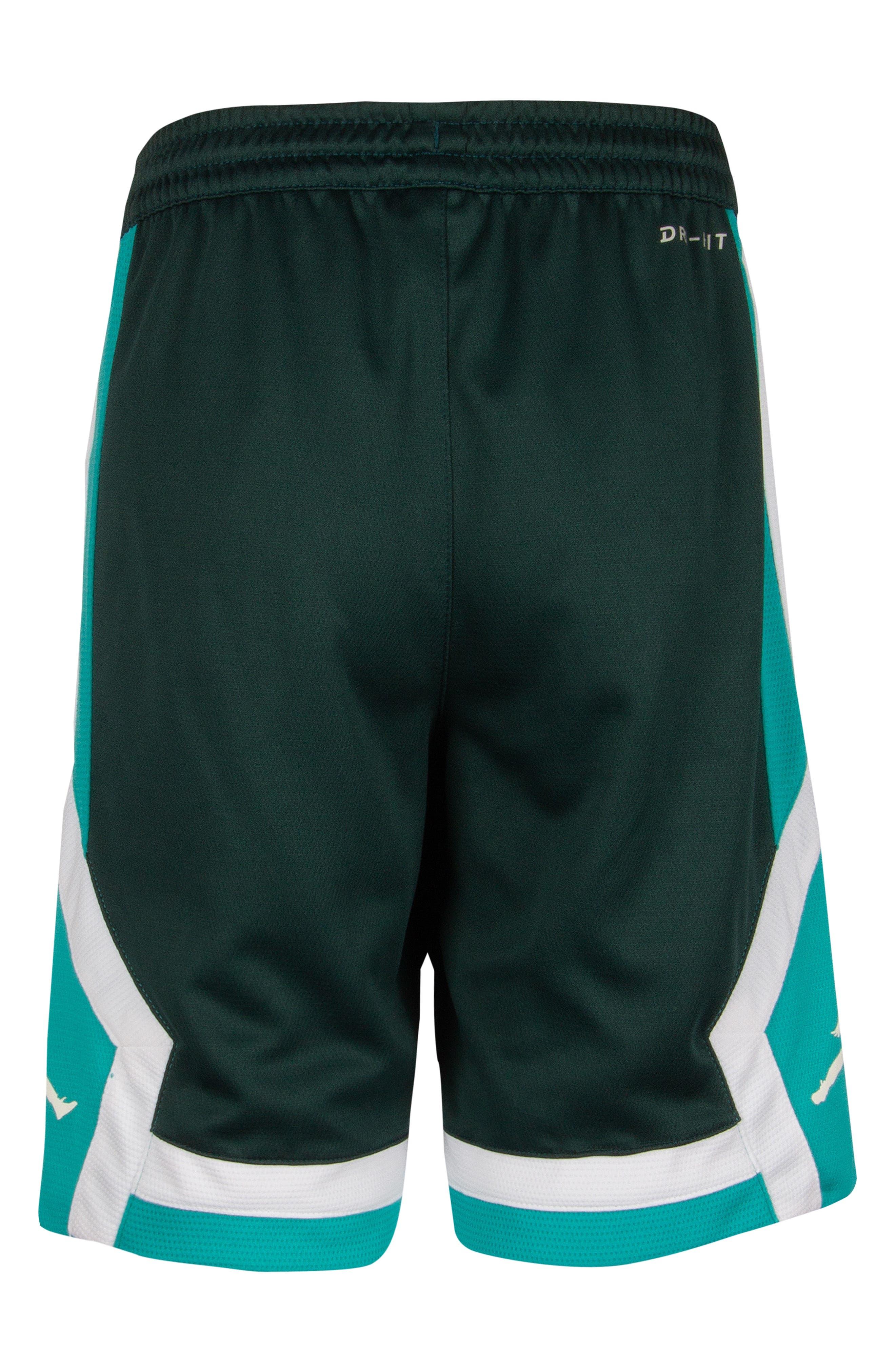 Jordan Rise Athletic Shorts,                             Alternate thumbnail 2, color,                             MIDNIGHT SPRUCE