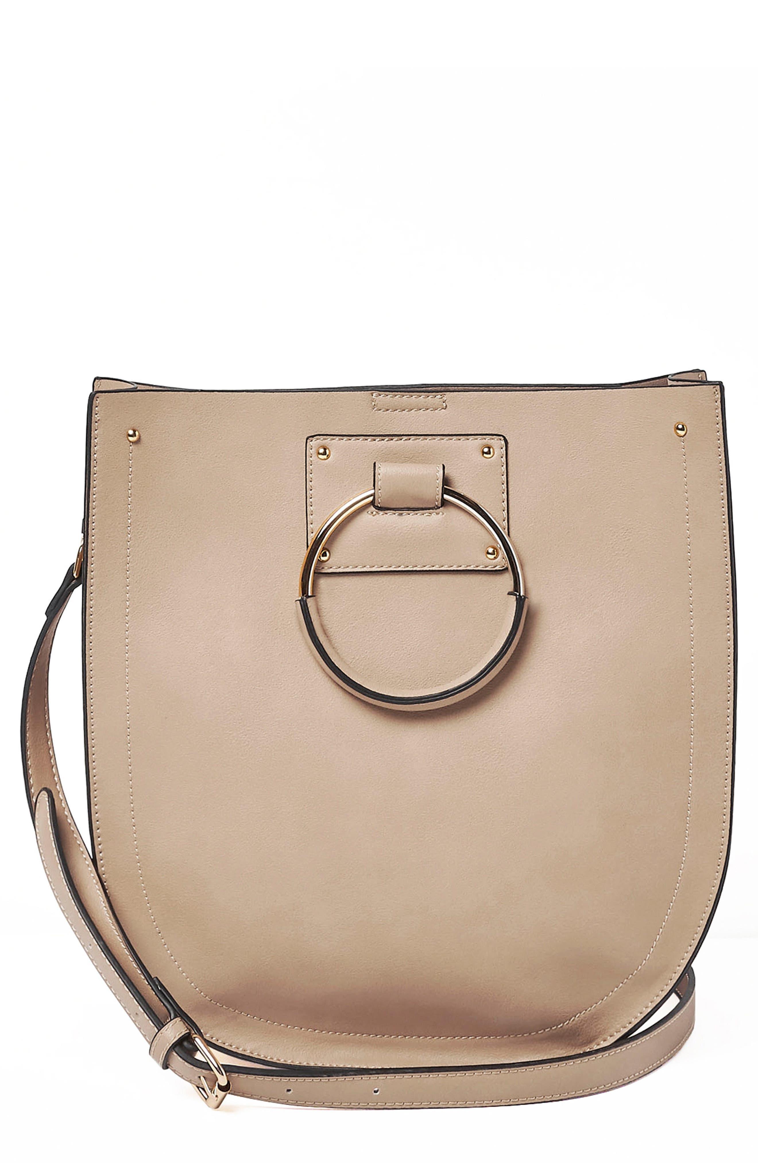Nordic Dream Vegan Leather Shoulder Bag,                             Main thumbnail 2, color,