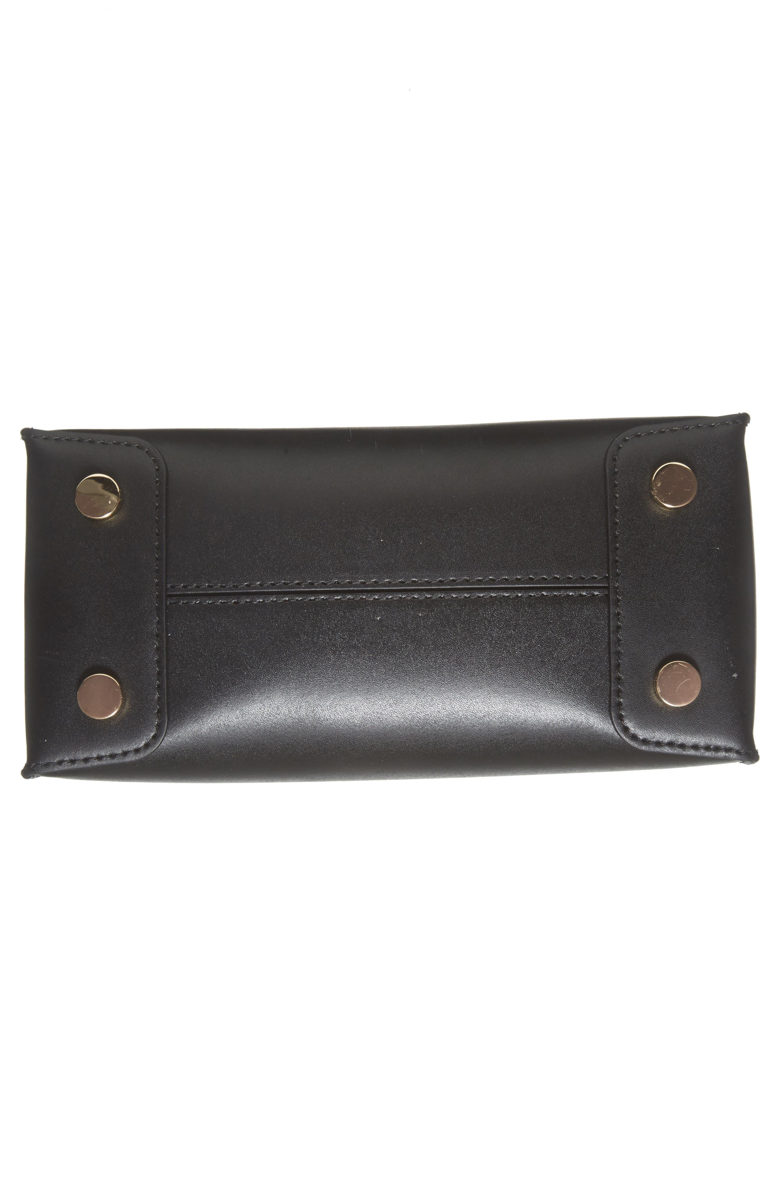 MICHAEL Michael Kors Small Mercer Messenger Leather Tote,                             Alternate thumbnail 6, color,