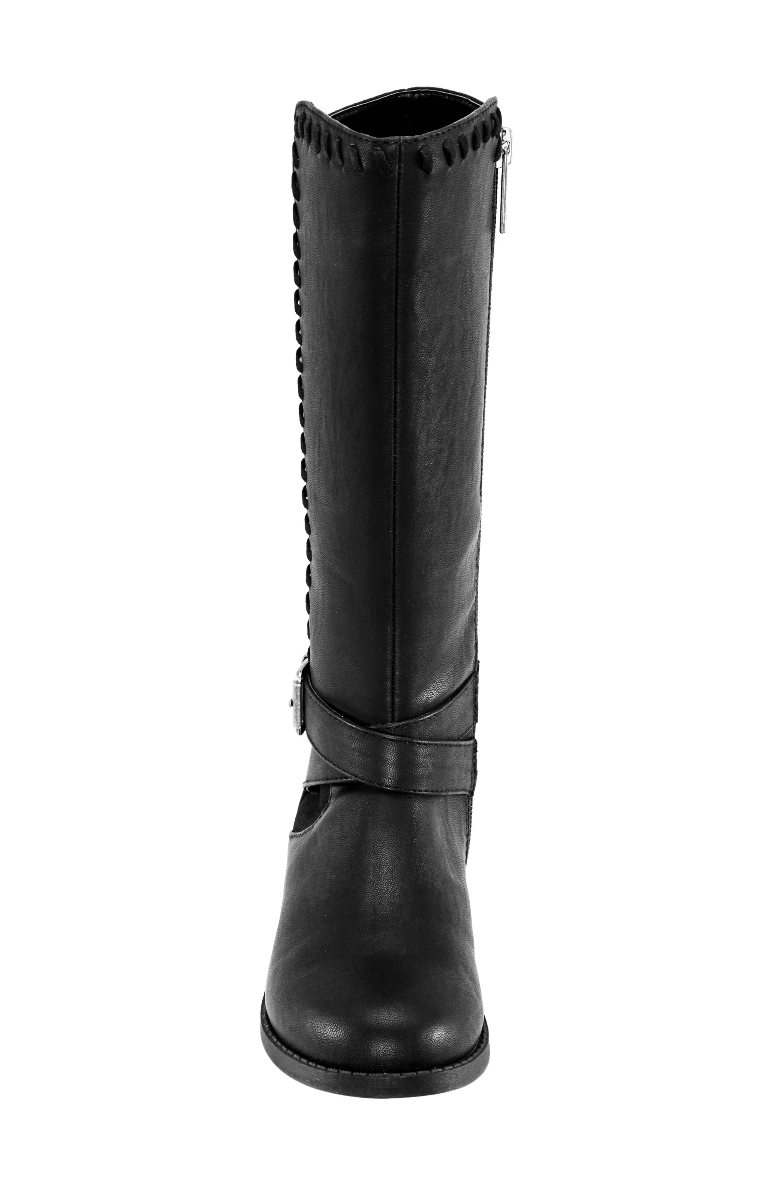 Jeanie Riding Boot,                             Alternate thumbnail 4, color,                             003