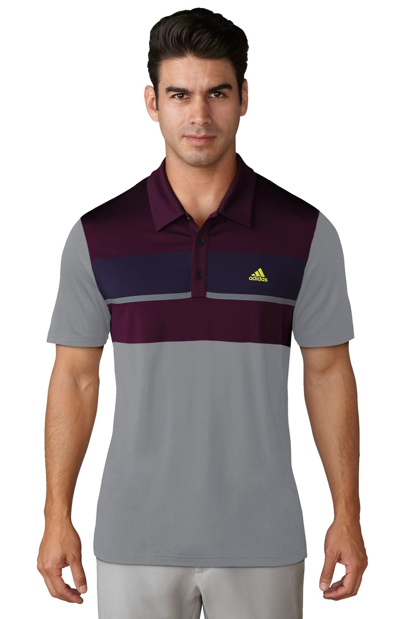 Climacool<sup>®</sup> Colorblocked Polo,                             Alternate thumbnail 5, color,                             020