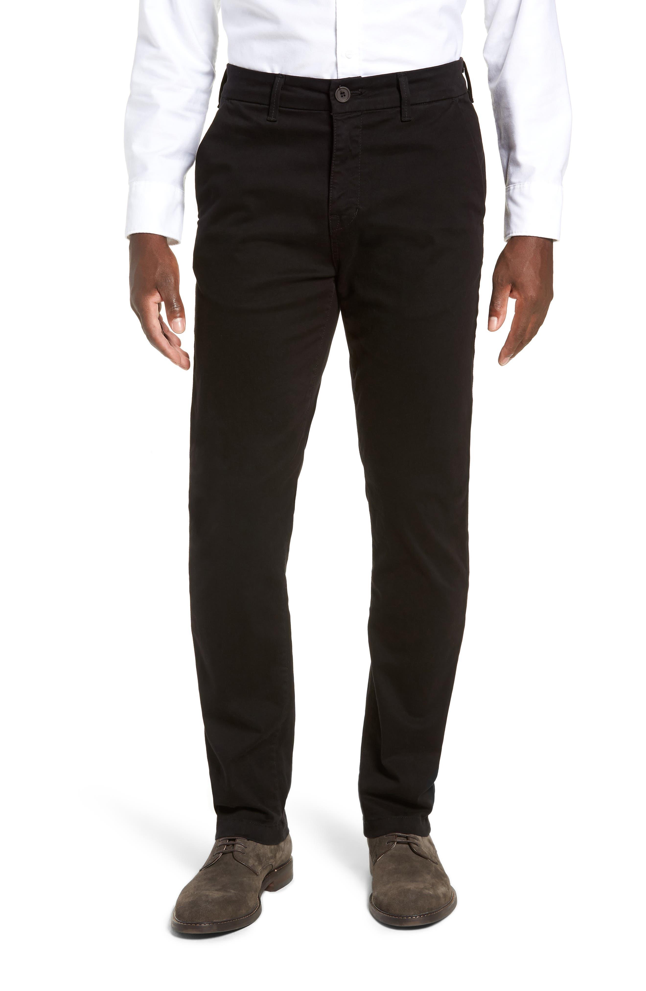 FIDELITY DENIM Weekend Slim Fit Chino Pants, Main, color, 001