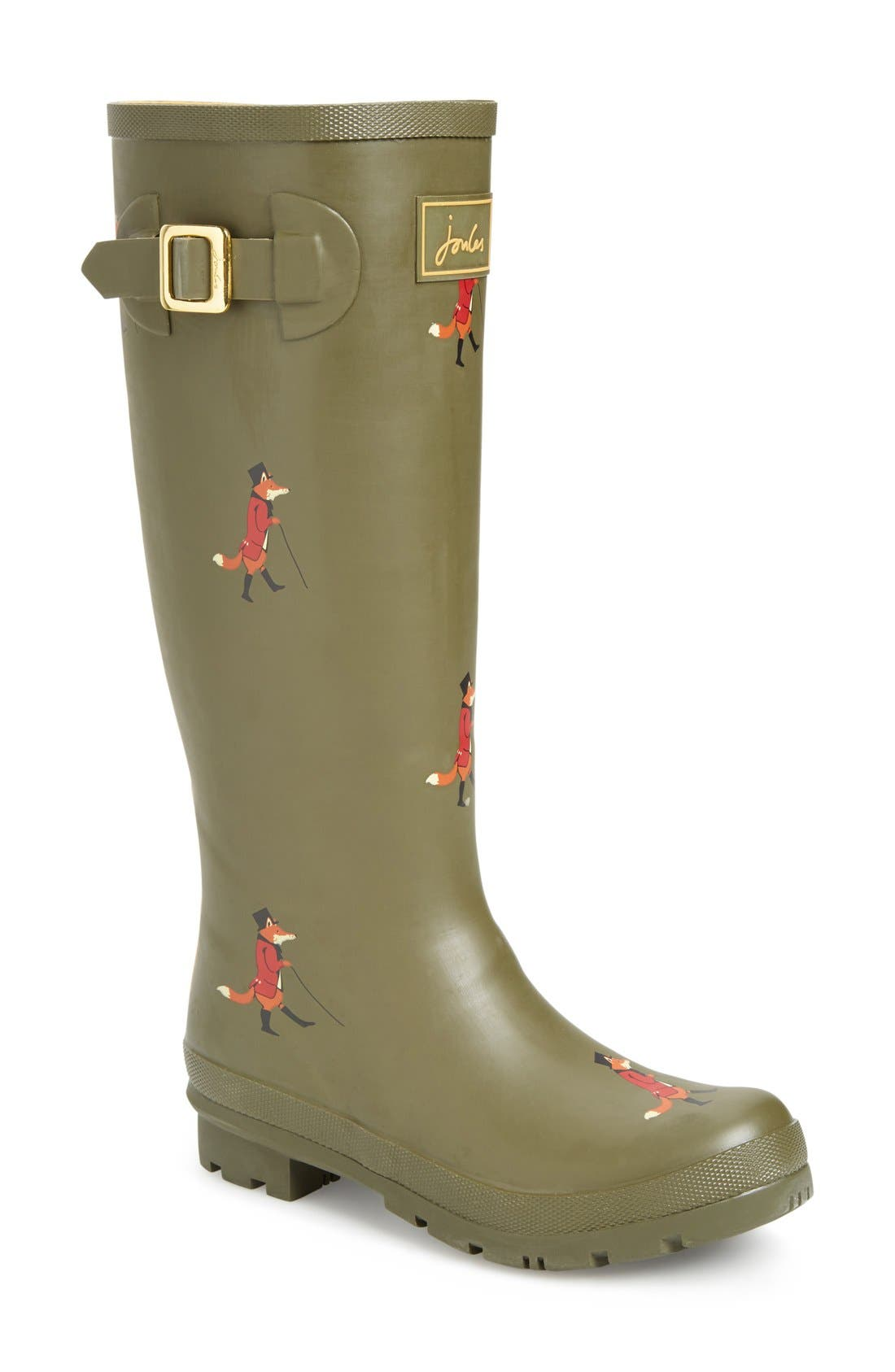 'Welly' Print Rain Boot,                             Main thumbnail 36, color,