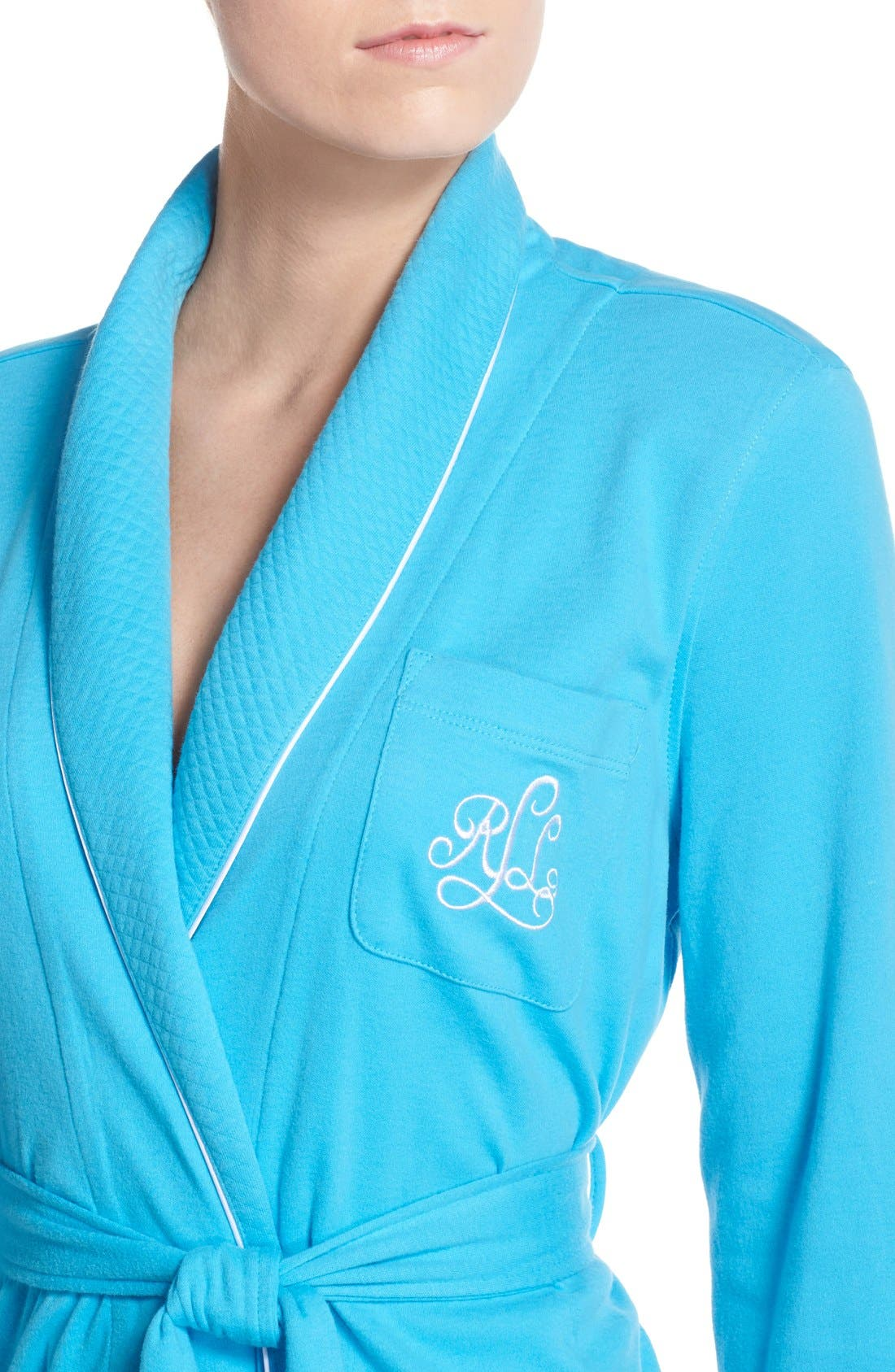Quilted Collar Robe,                             Alternate thumbnail 47, color,