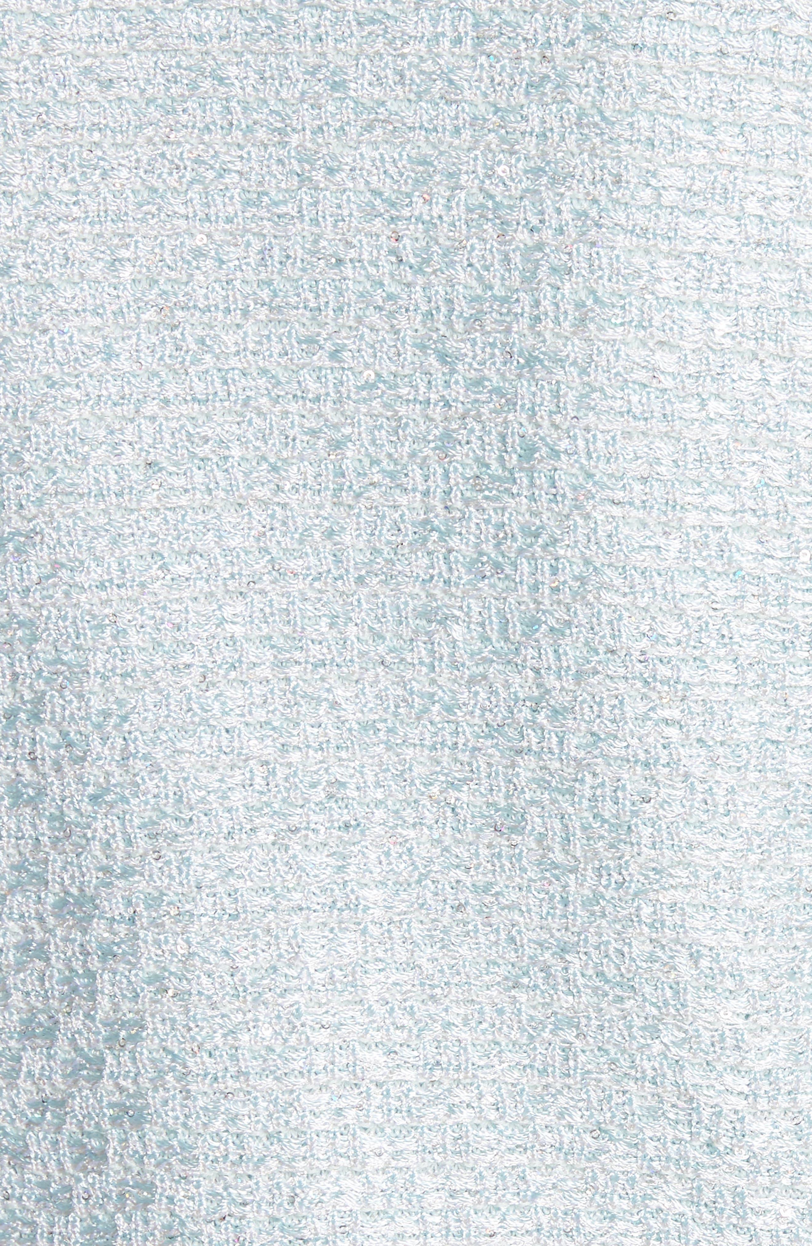 Hansh Sequin Knit Jacket,                             Alternate thumbnail 6, color,                             440