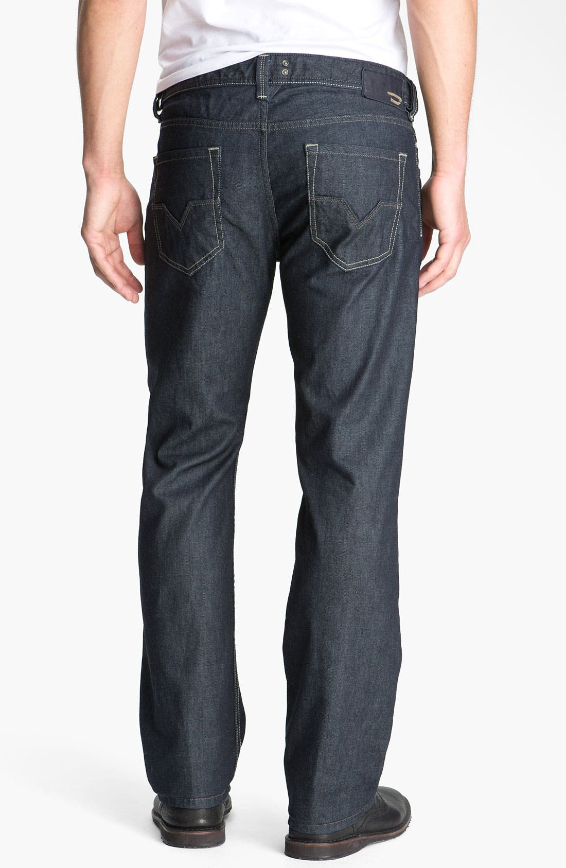 'Larkee' Straight Leg Jeans,                             Main thumbnail 1, color,                             400